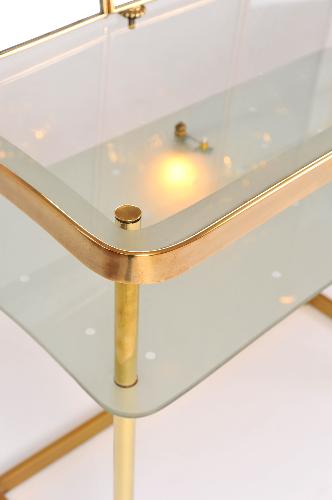 Italian Brass Dressing Table 07