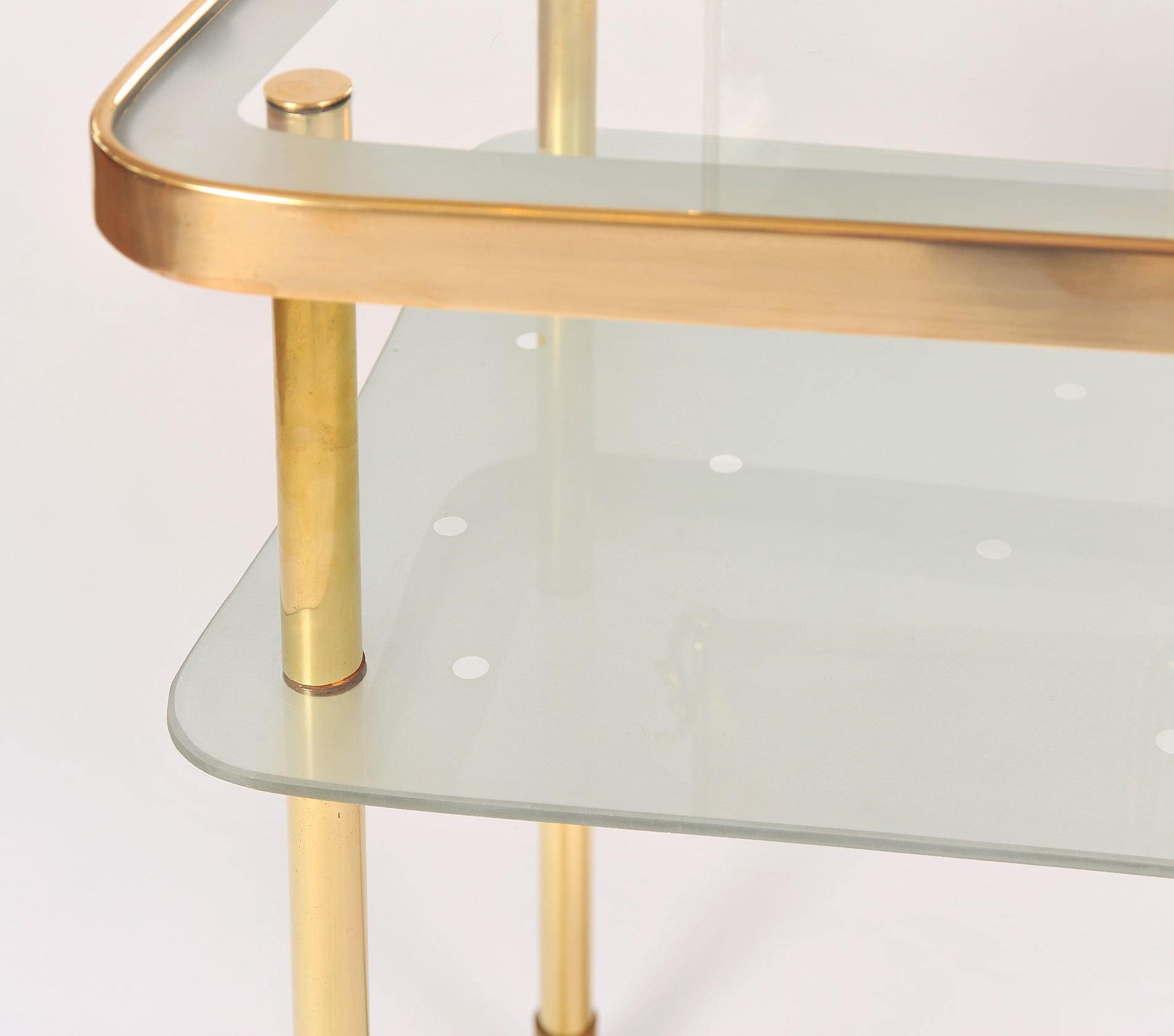 Italian Brass Dressing Table 08