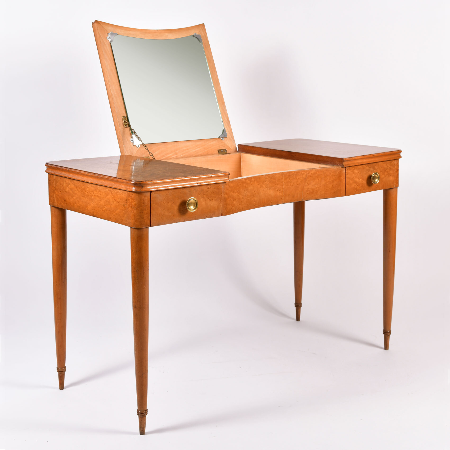 Italian Maple Dressing Table 01
