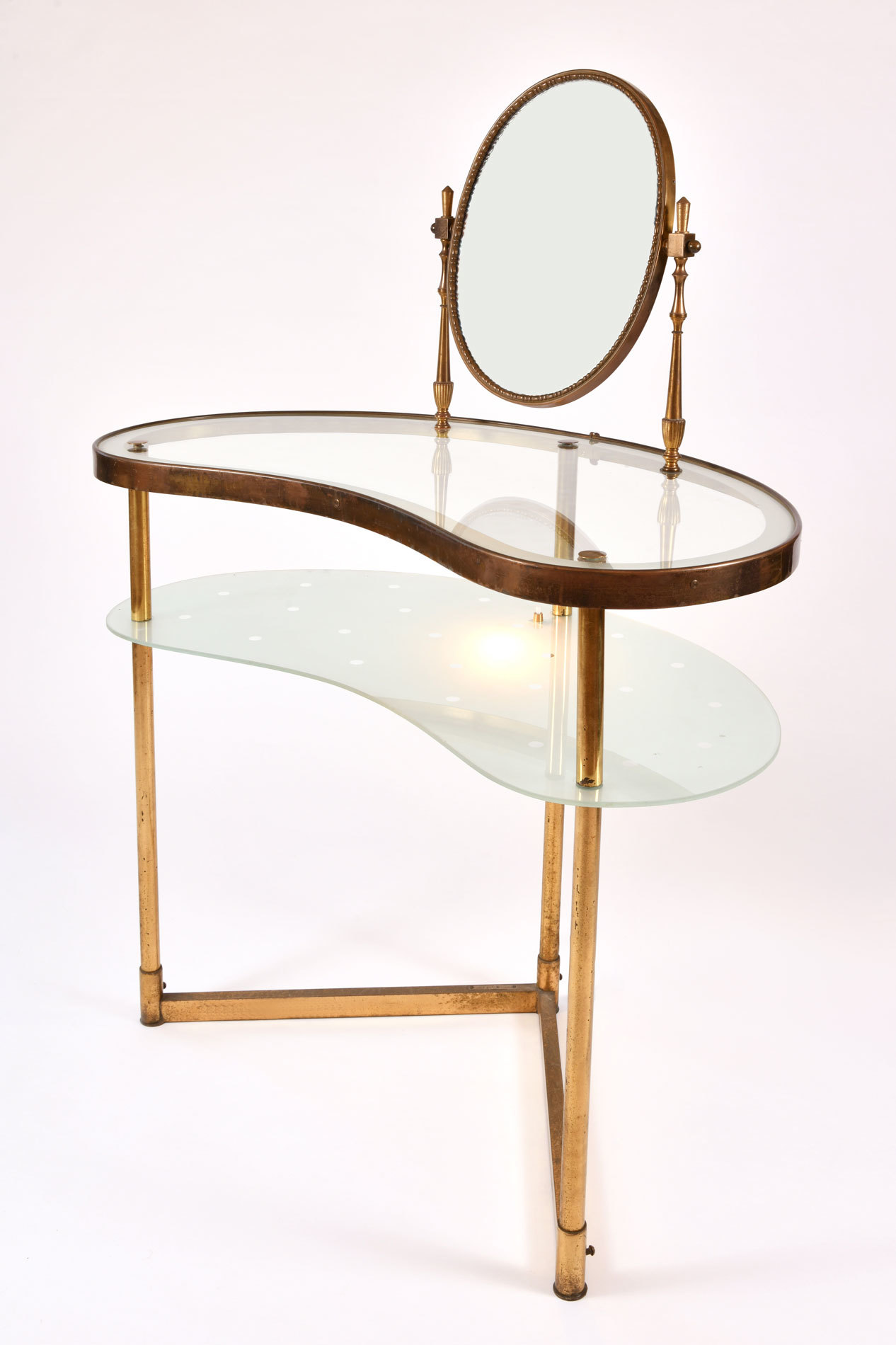 Italian Dressing Table Oval Mirror 02