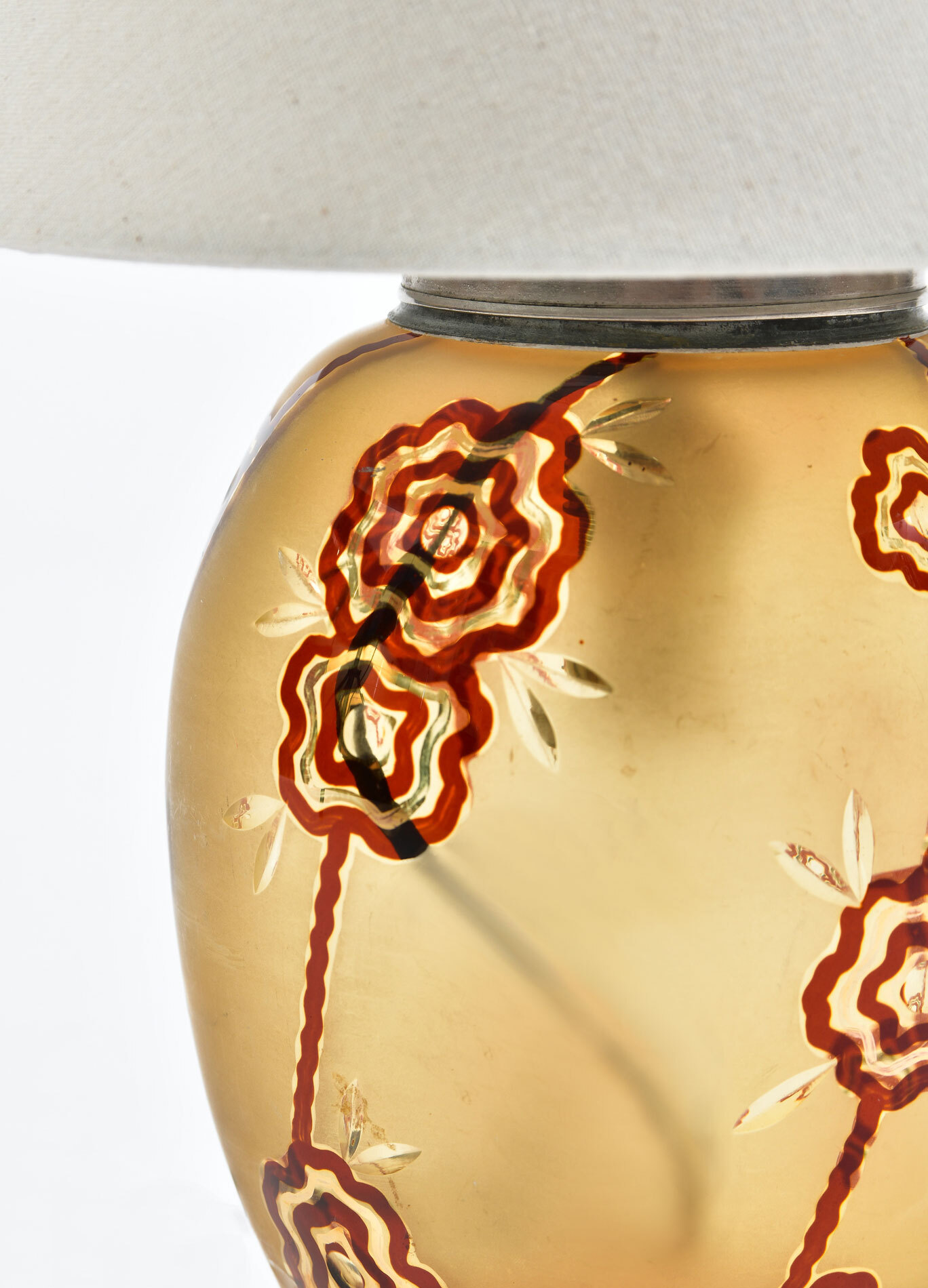 The image for Italian Glass Lamp 03