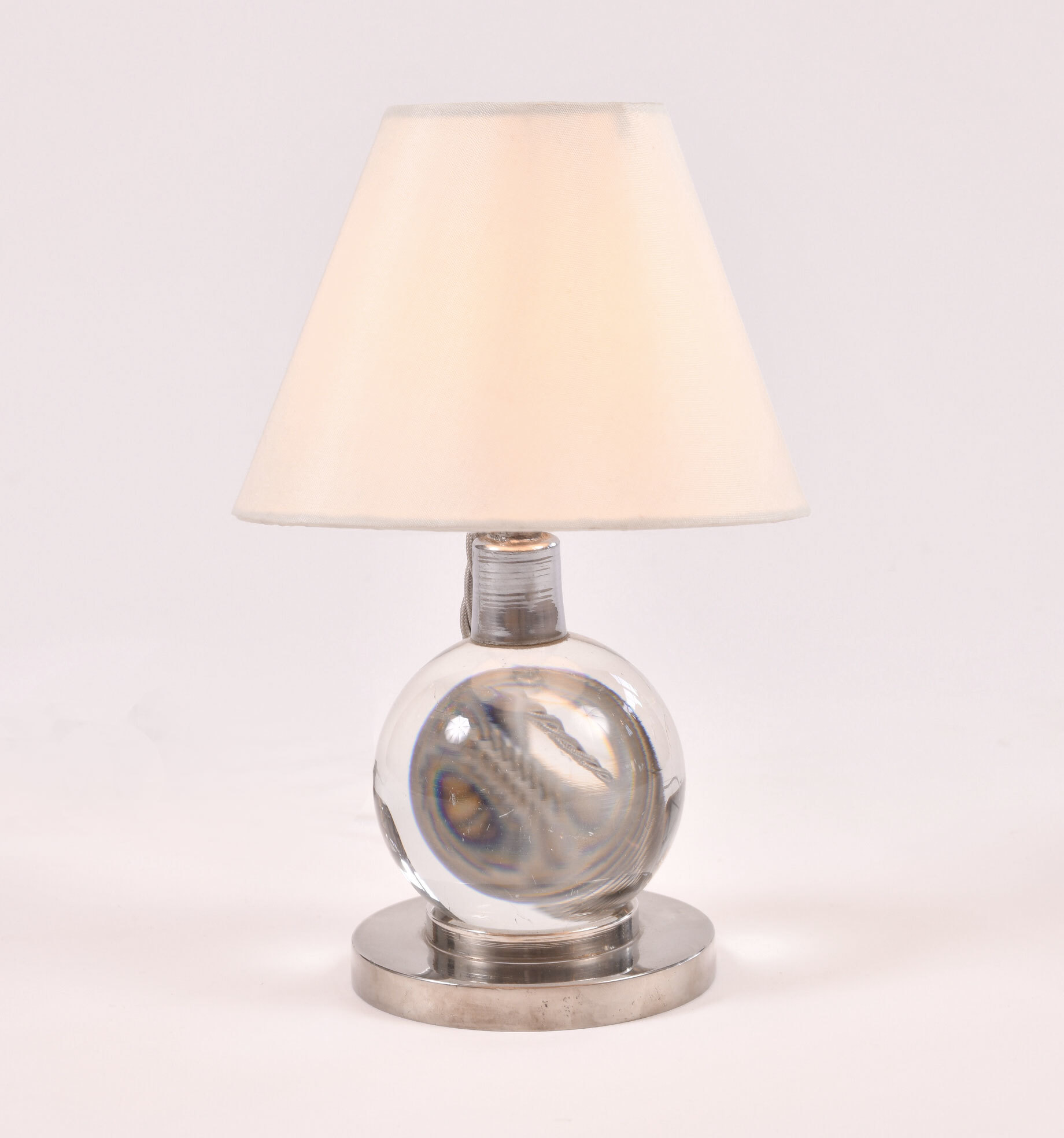 Jacques Adnet Ball Lamp 02