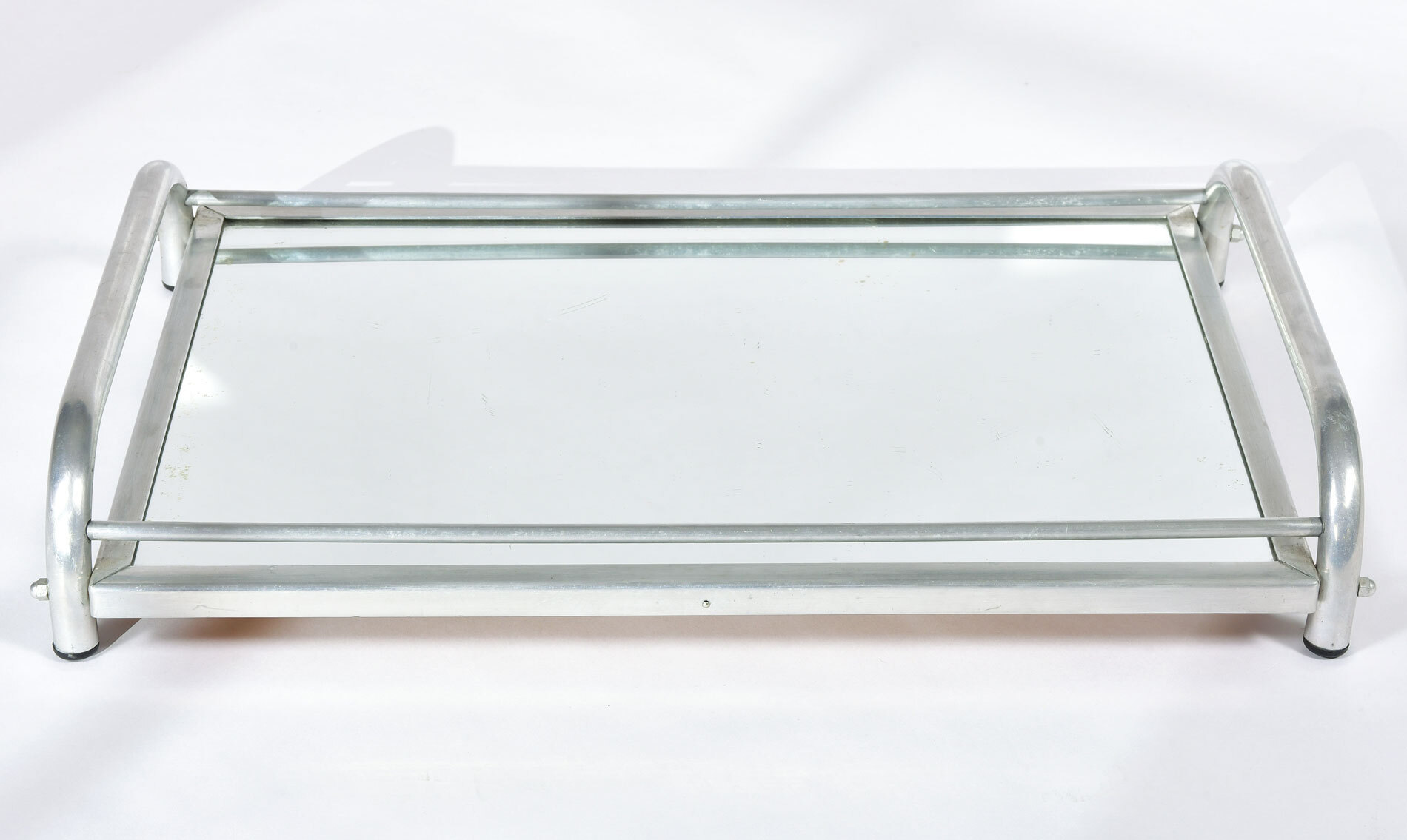 Large Chrome Mirrored Tray 02