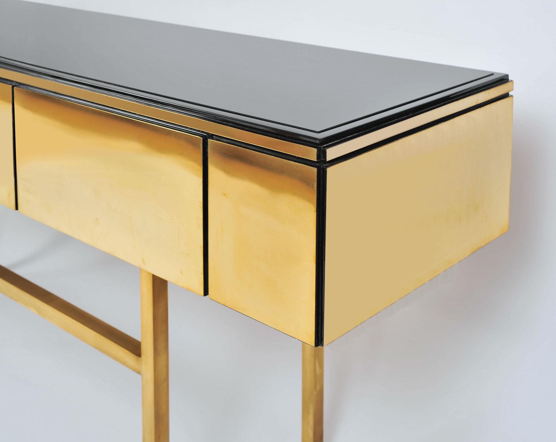 Long Brass Sideboard 02