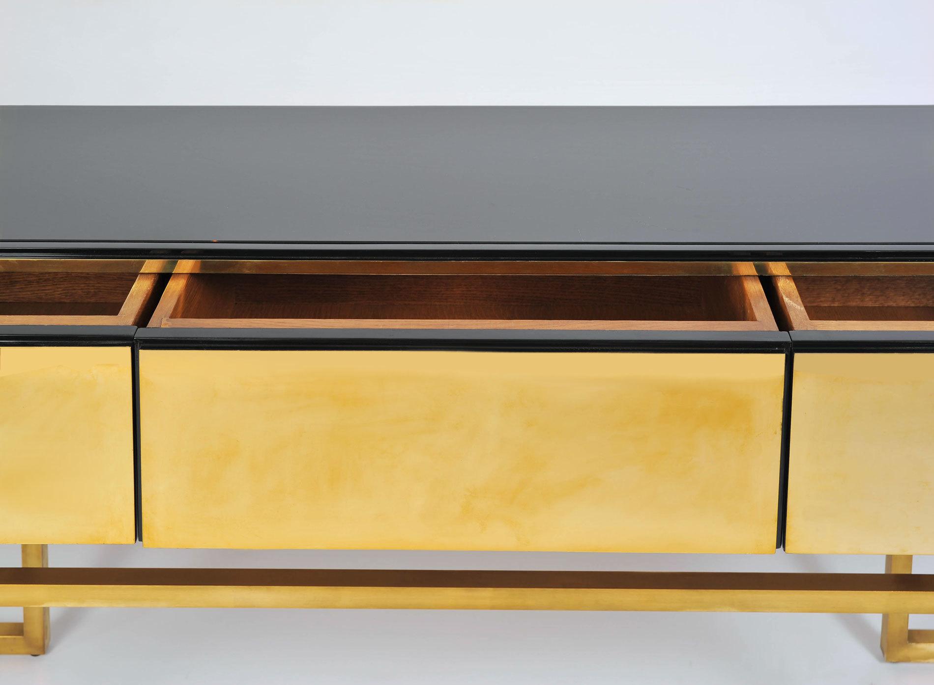 Long Brass Sideboard 04