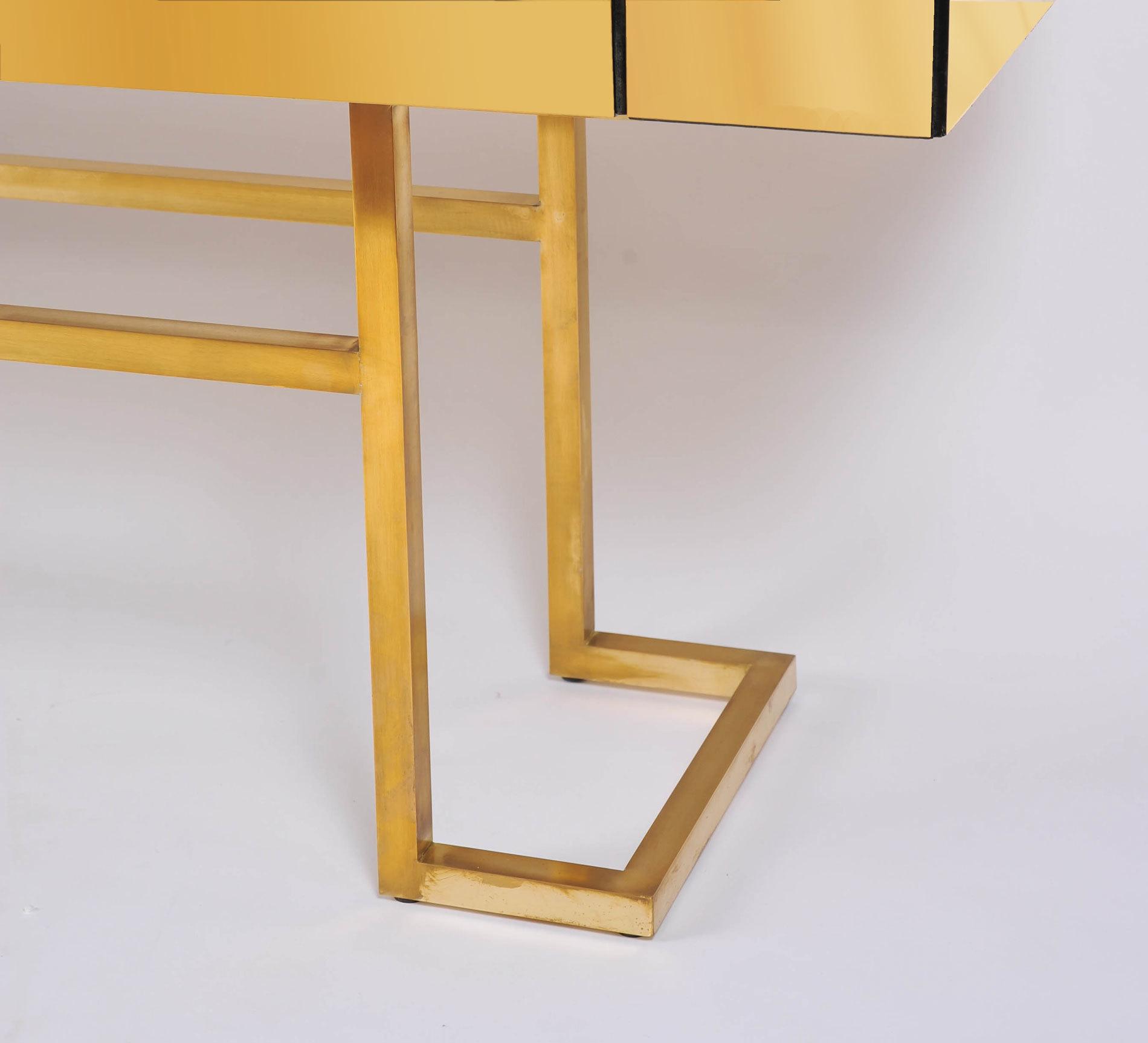 Long Brass Sideboard 05