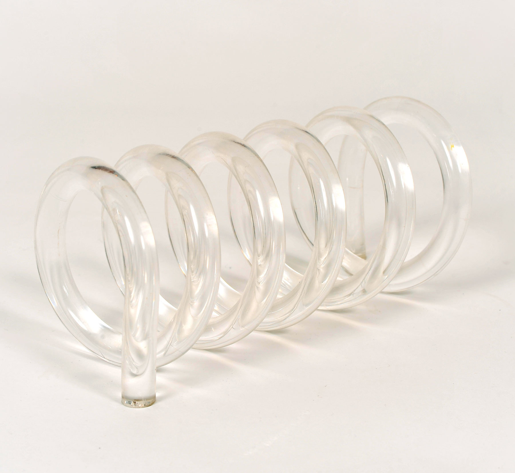 The image for Lucite Spiral Letter Rack 02