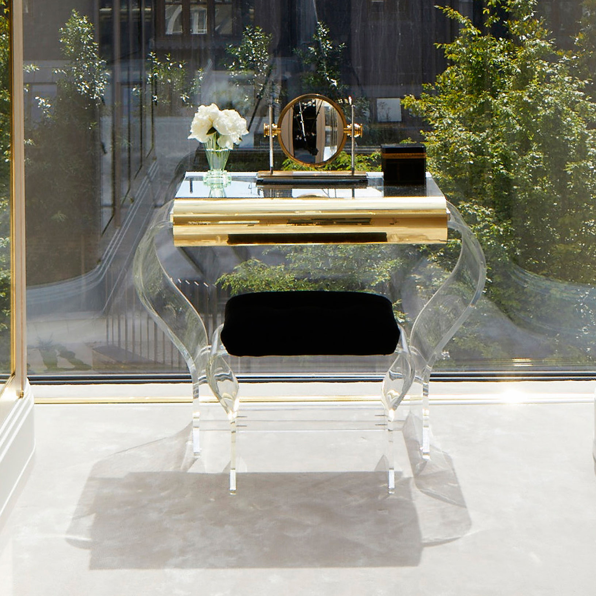 Lucite Dressing Table –10