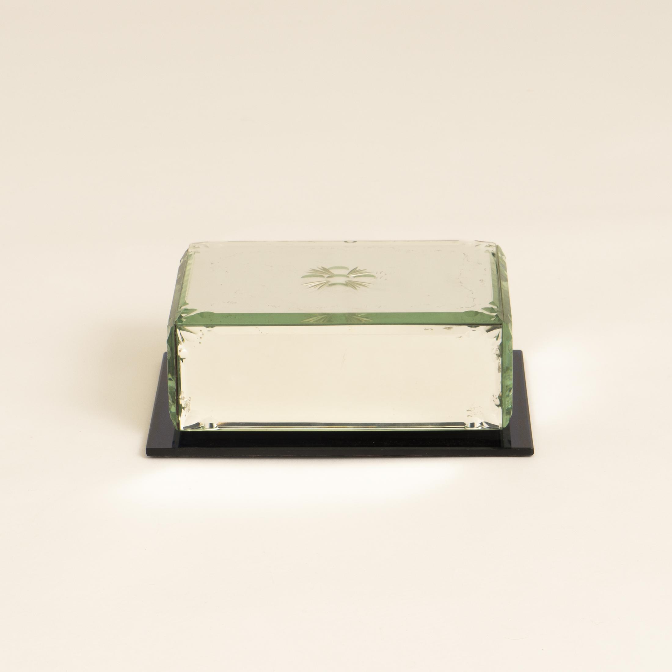 Mirrored Cigarette Box 0286