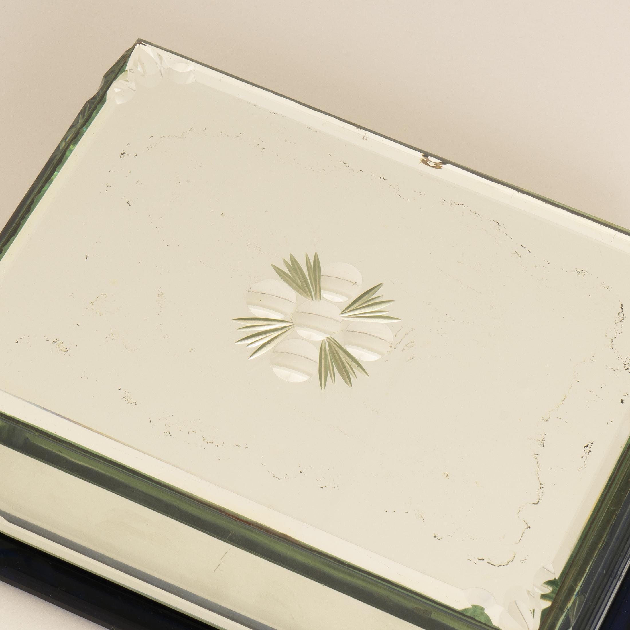 Mirrored Cigarette Box 0288