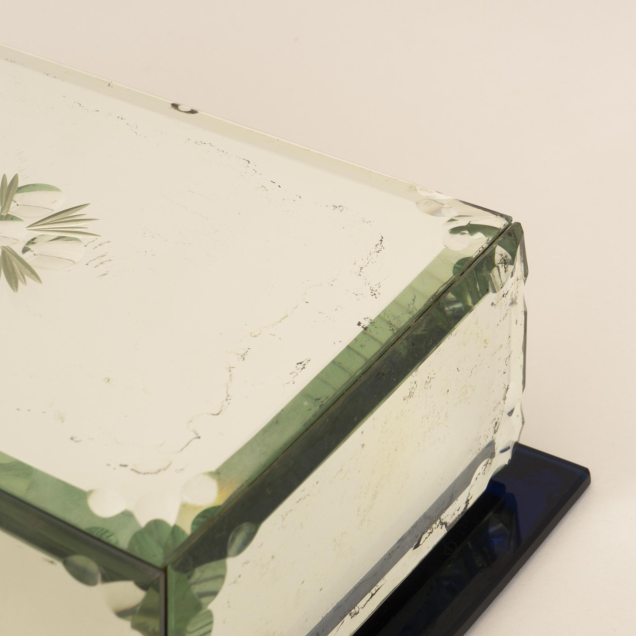 Mirrored Cigarette Box 0299