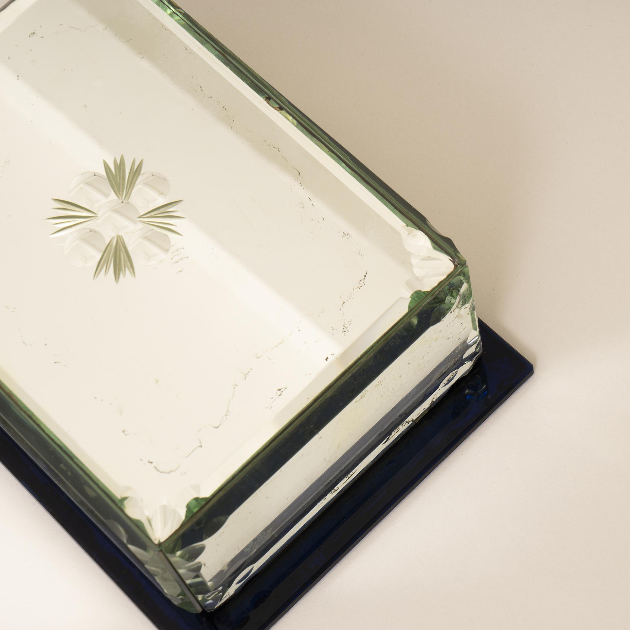 Mirrored Cigarette Box 0304
