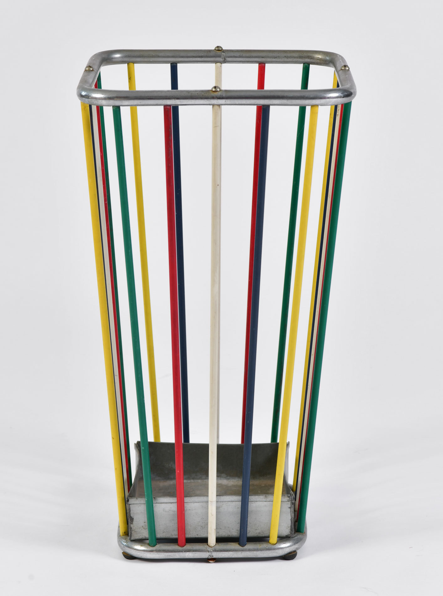 Multi Coloured Umbrella Stand 02