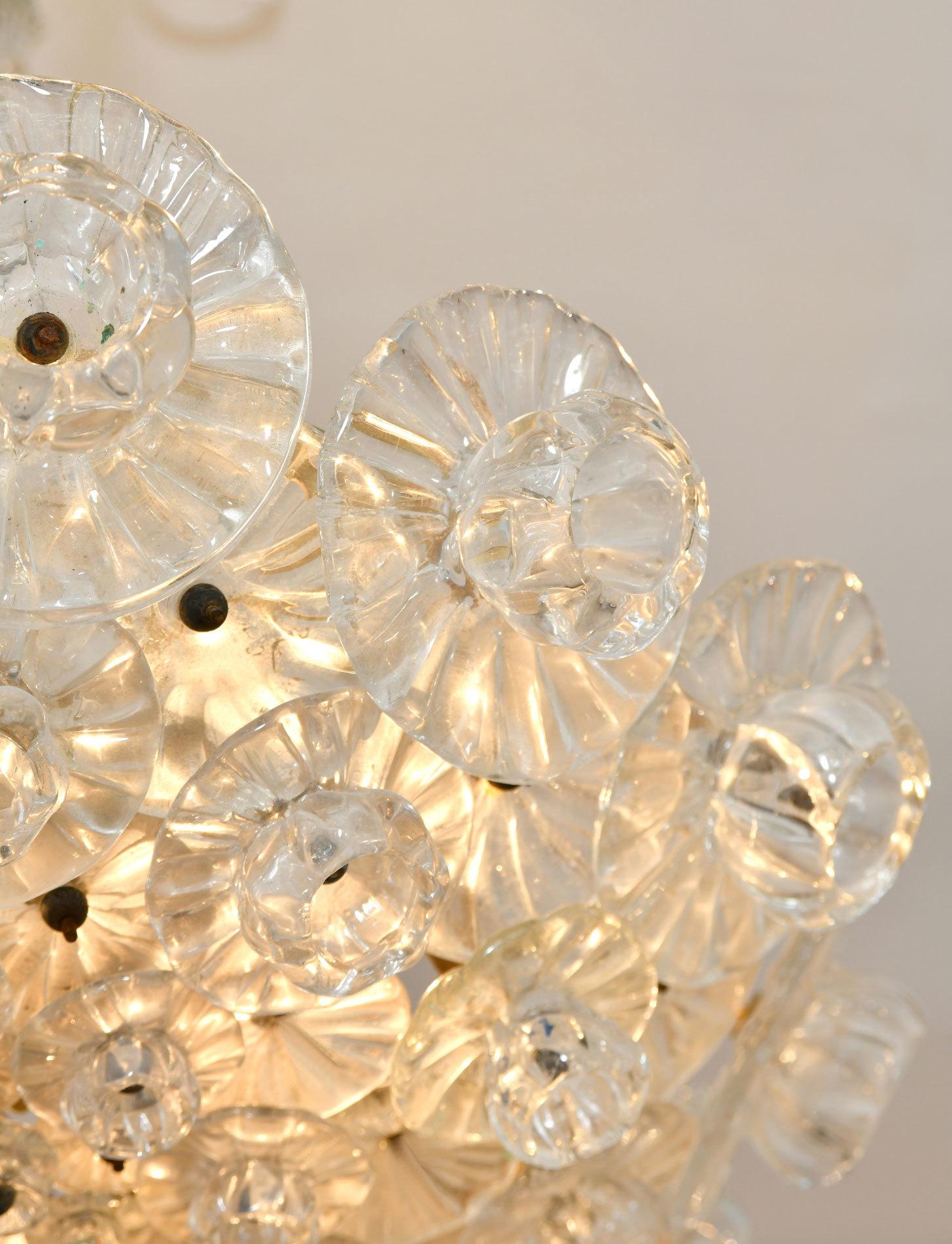 Murano Glass Chandelier By Barovier 05