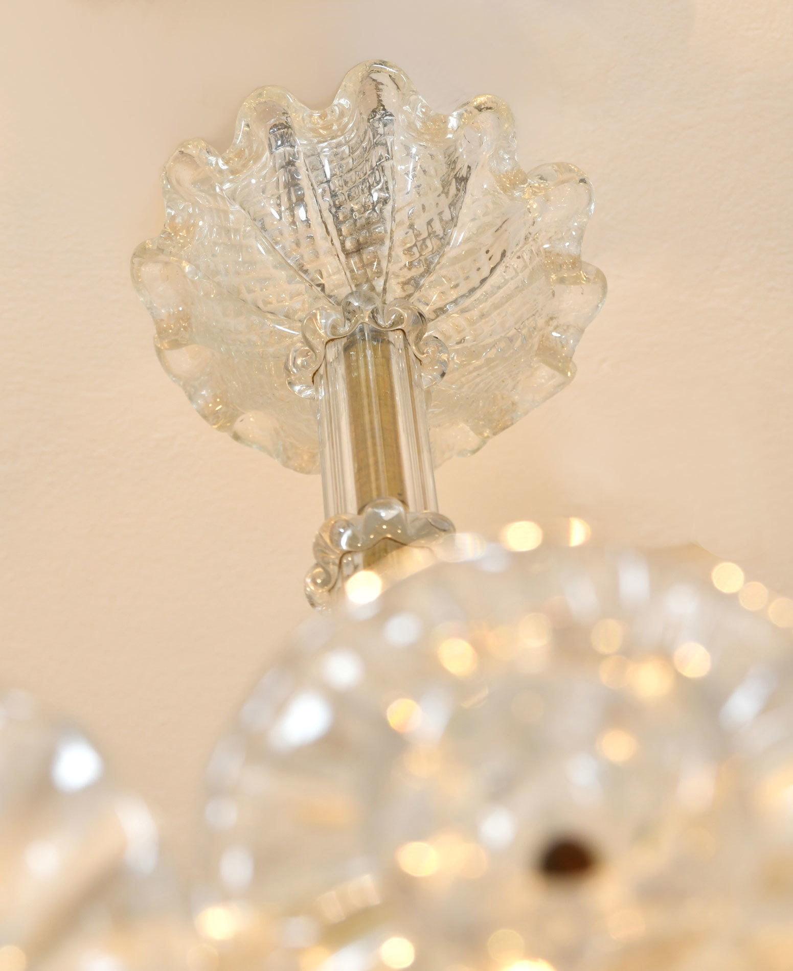 The image for Murano Glass Chandelier By Barovier 02