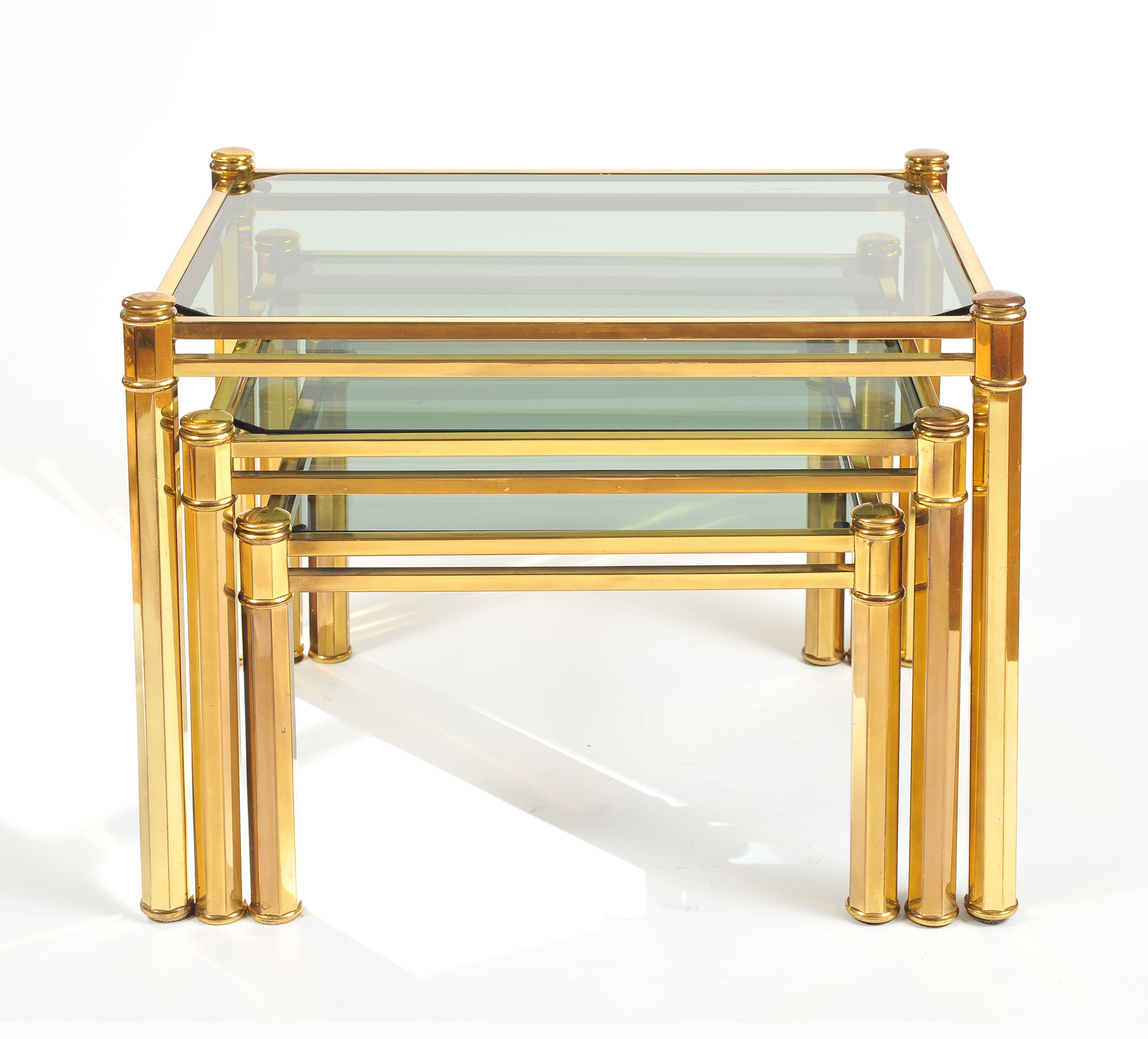 Nest Of Brass Tables 02