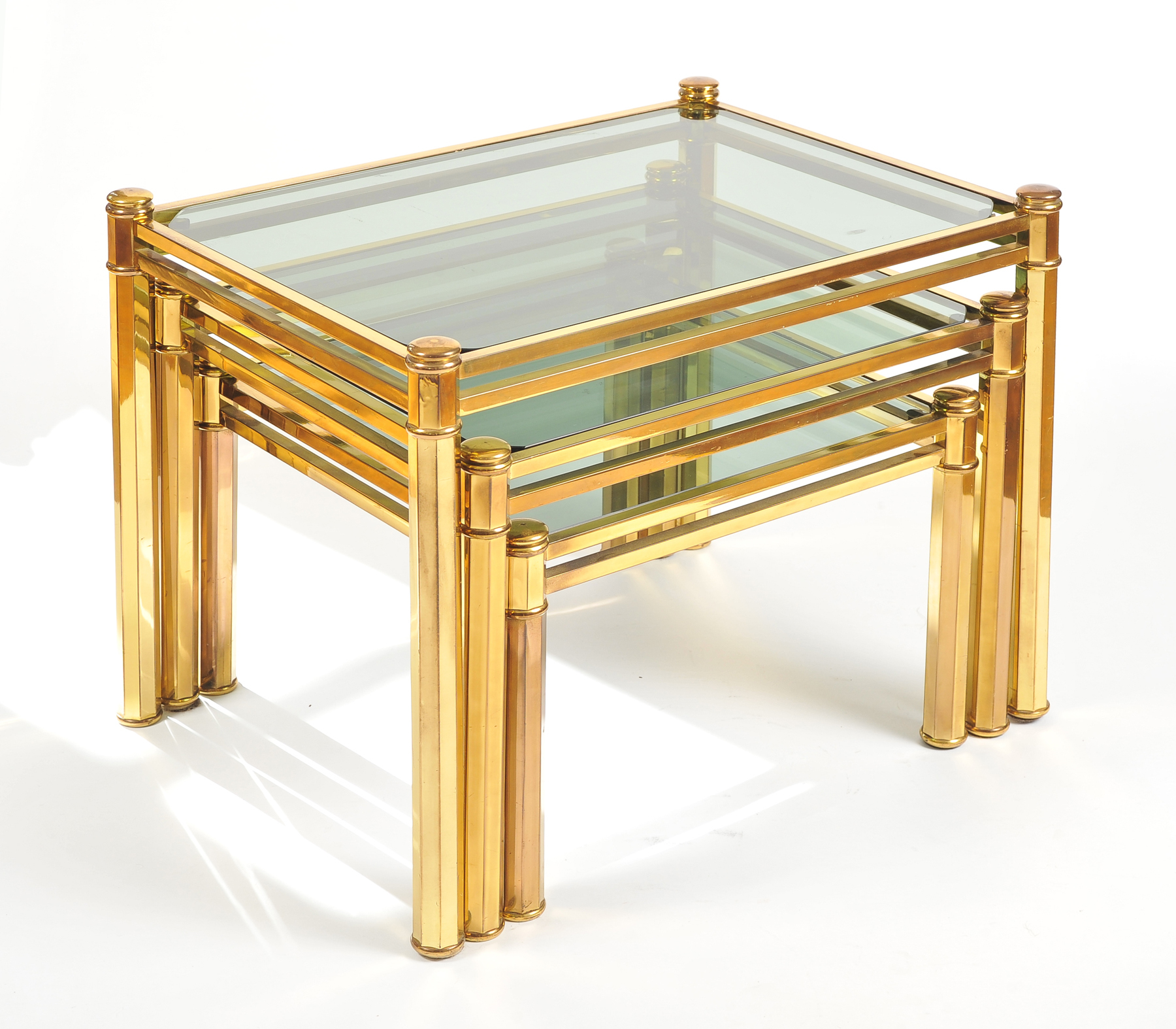 Nest Of Brass Tables 03