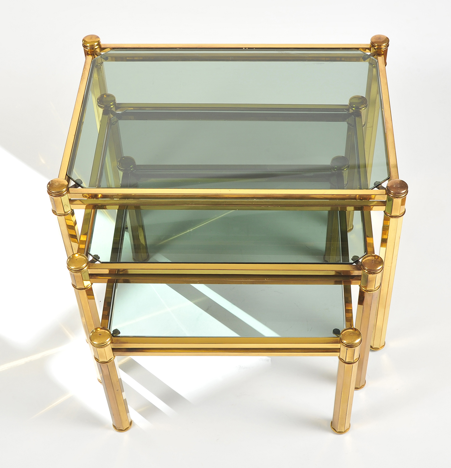 Nest Of Brass Tables 04