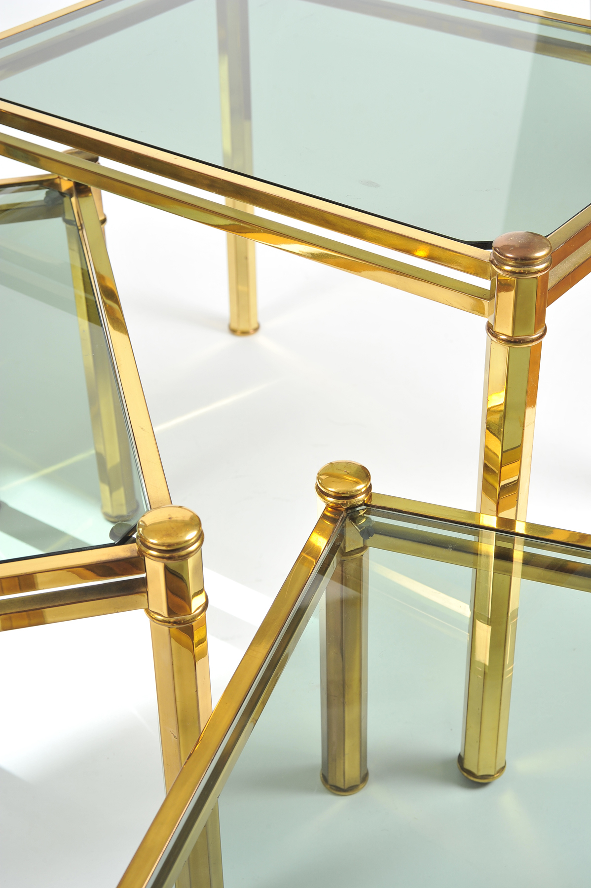 Nest Of Brass Tables 05