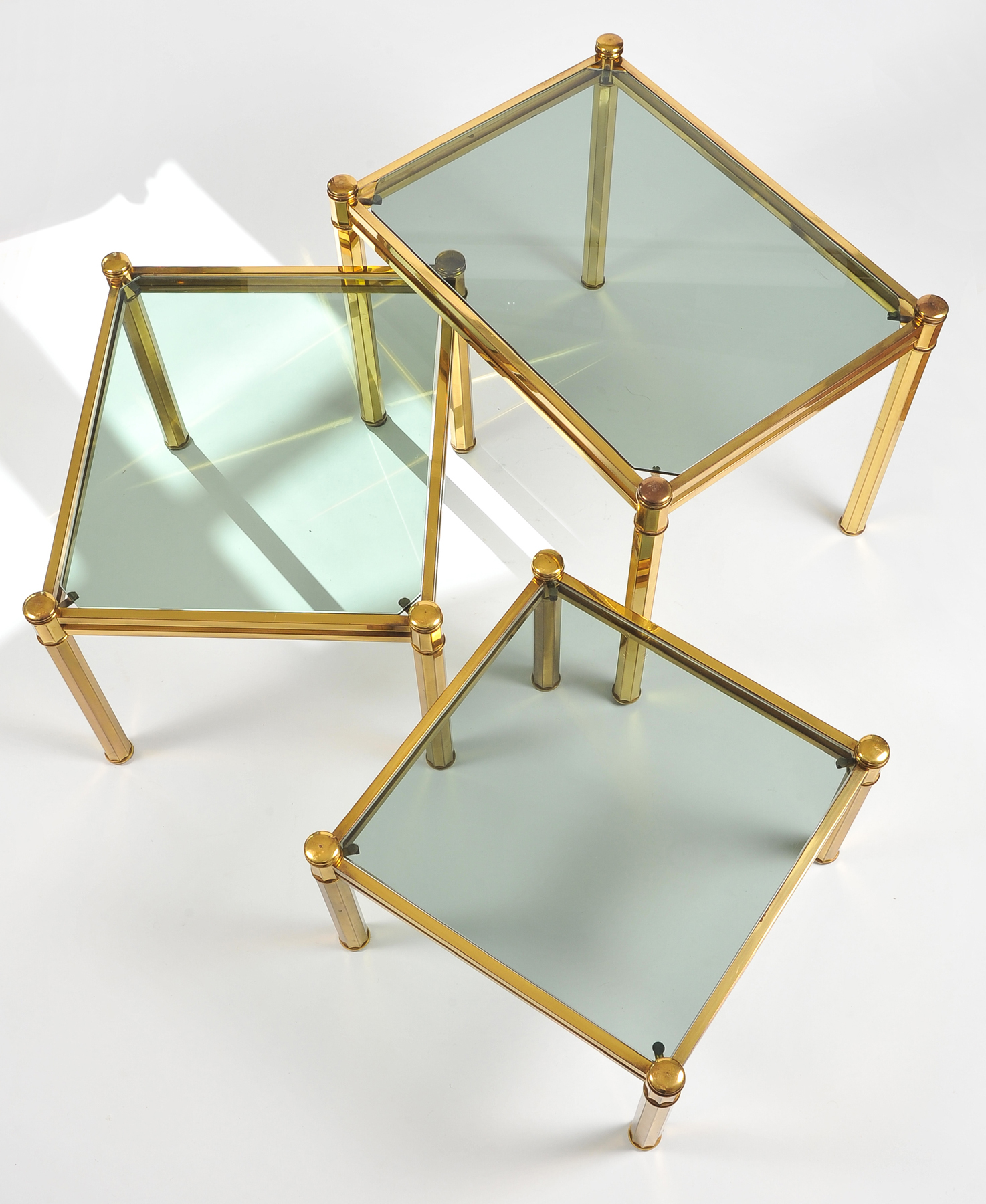 Nest Of Brass Tables 06