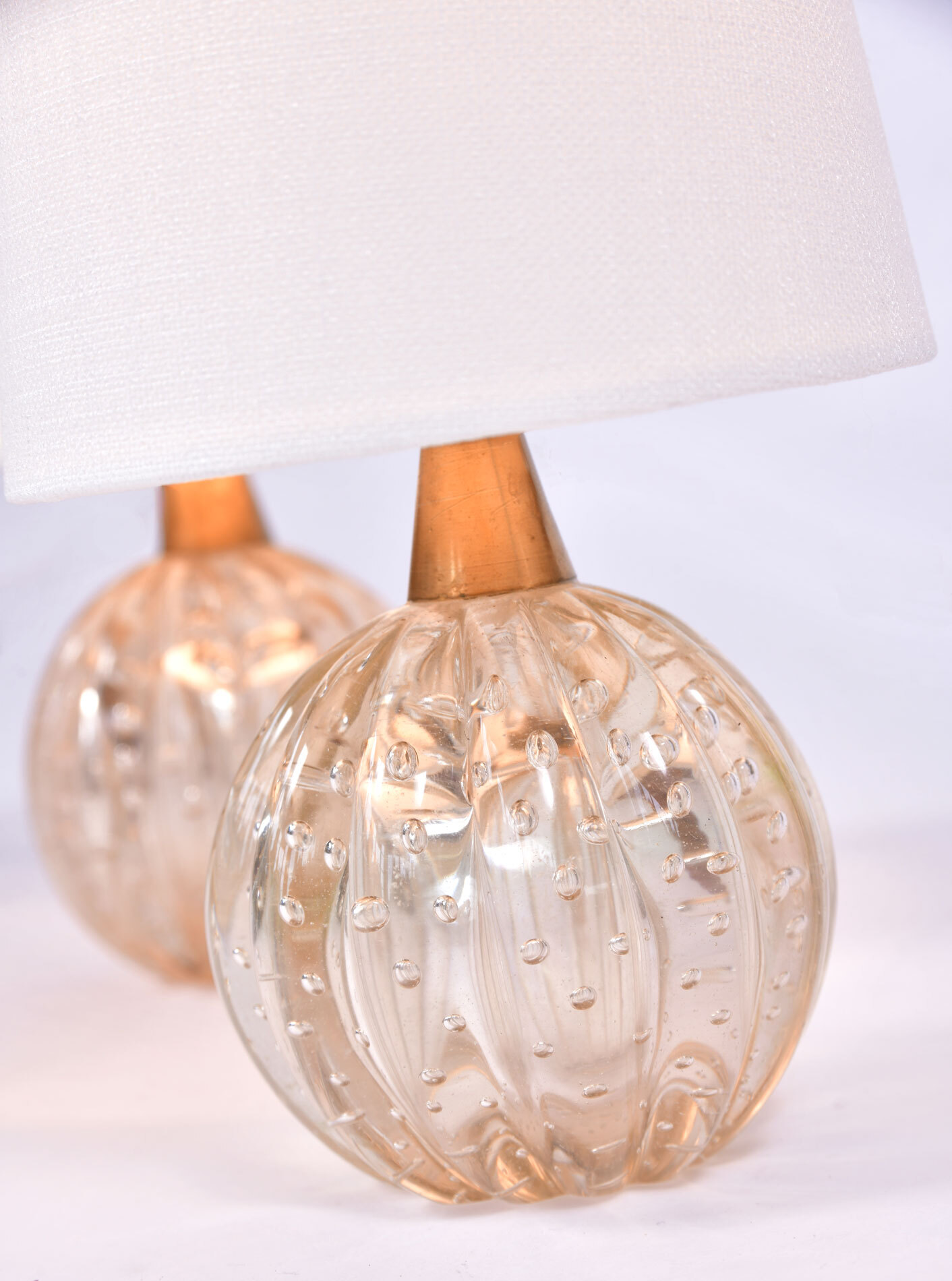 Paiar Clear Murano Lamps 02