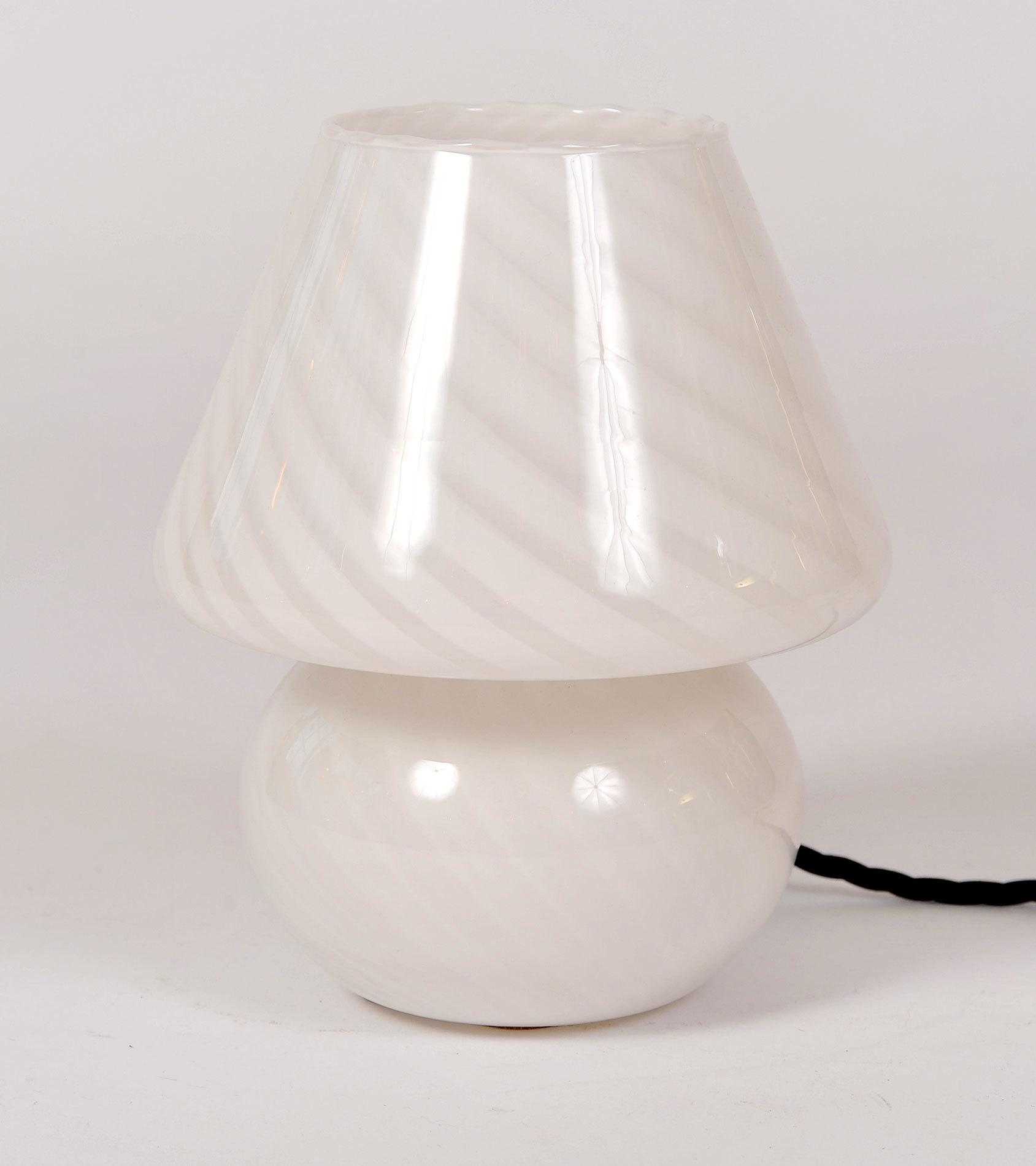 Italian 1960s Murano glass mushroom