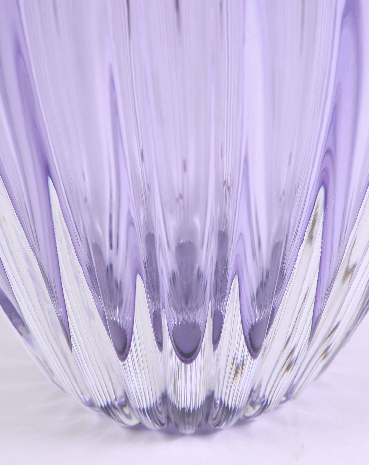 Pair Purple Vase Lamps 07