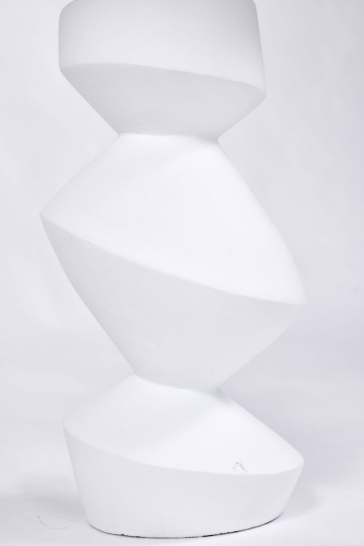 The image for Pair Savoy Lamps Natural Plaster 03