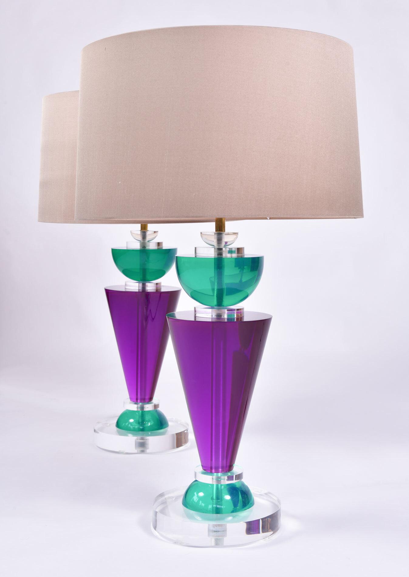 Pair Van Teal Lamps 02