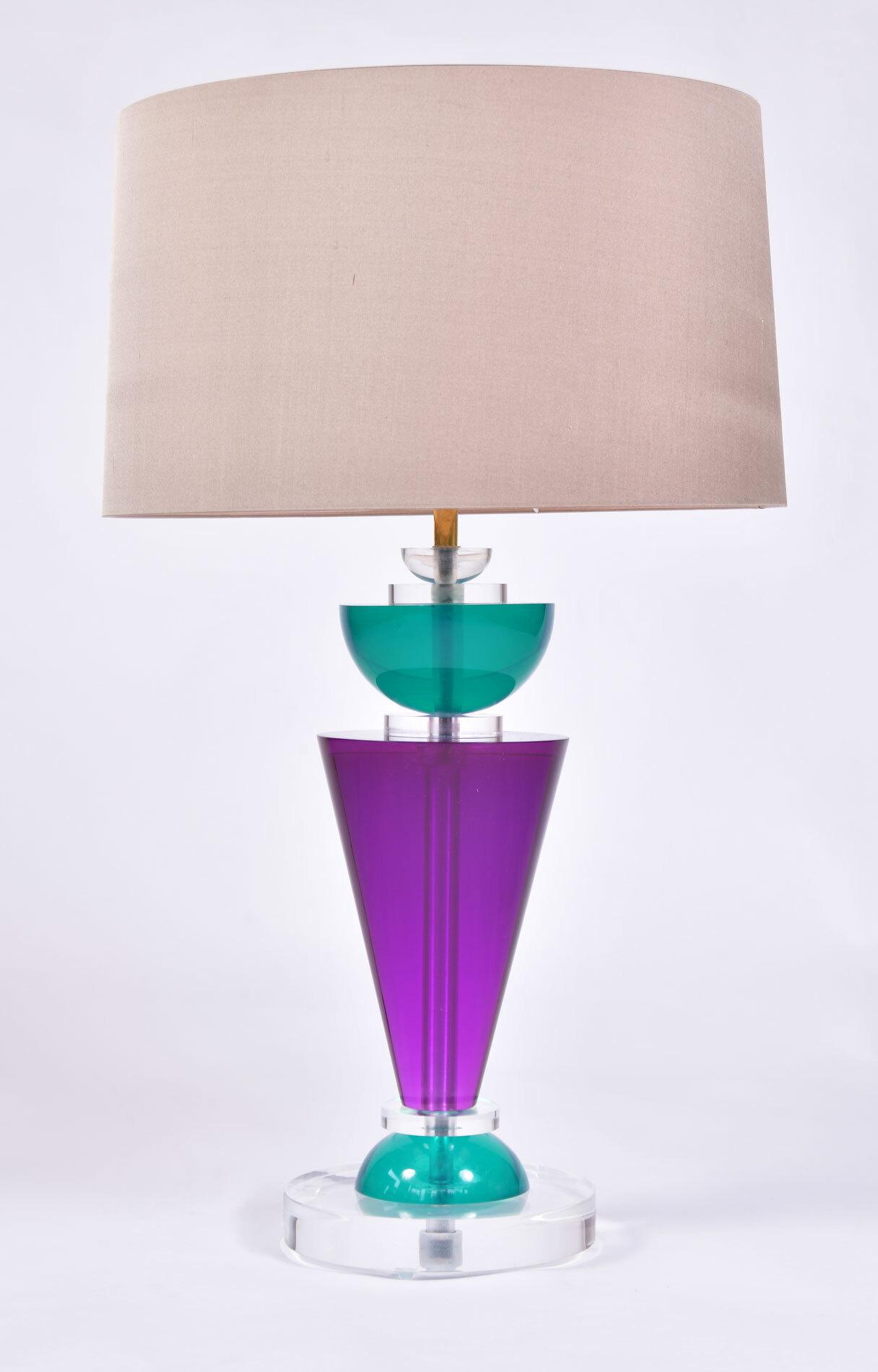 Pair Van Teal Lamps 03