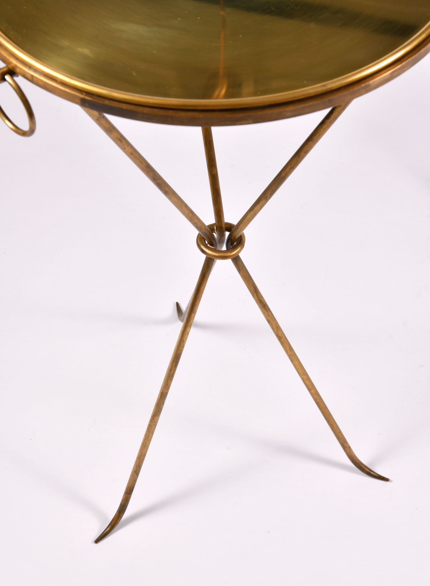Pair Gueridons Bronze Tables 07