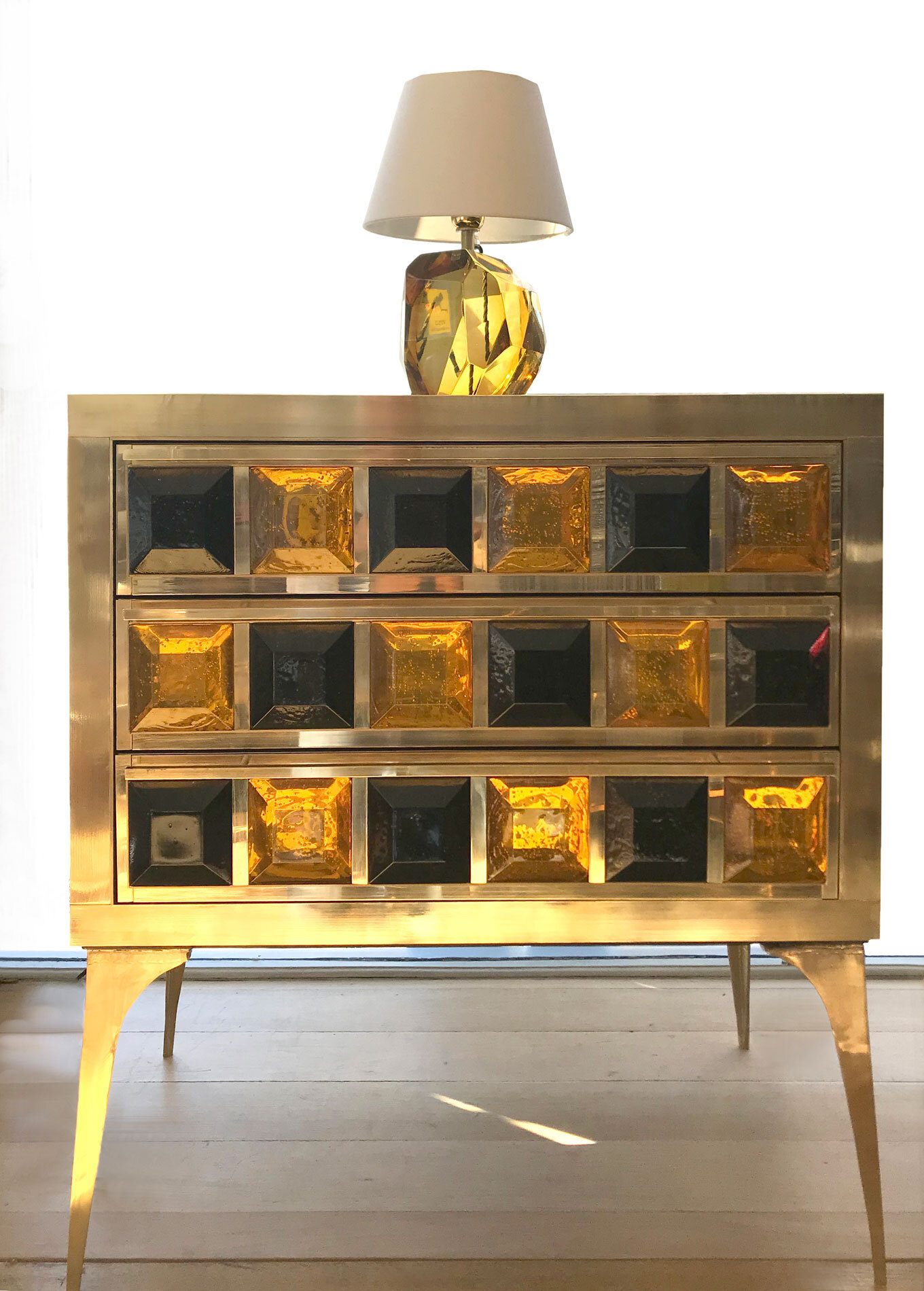 Pair Jewelled Cabinets 02