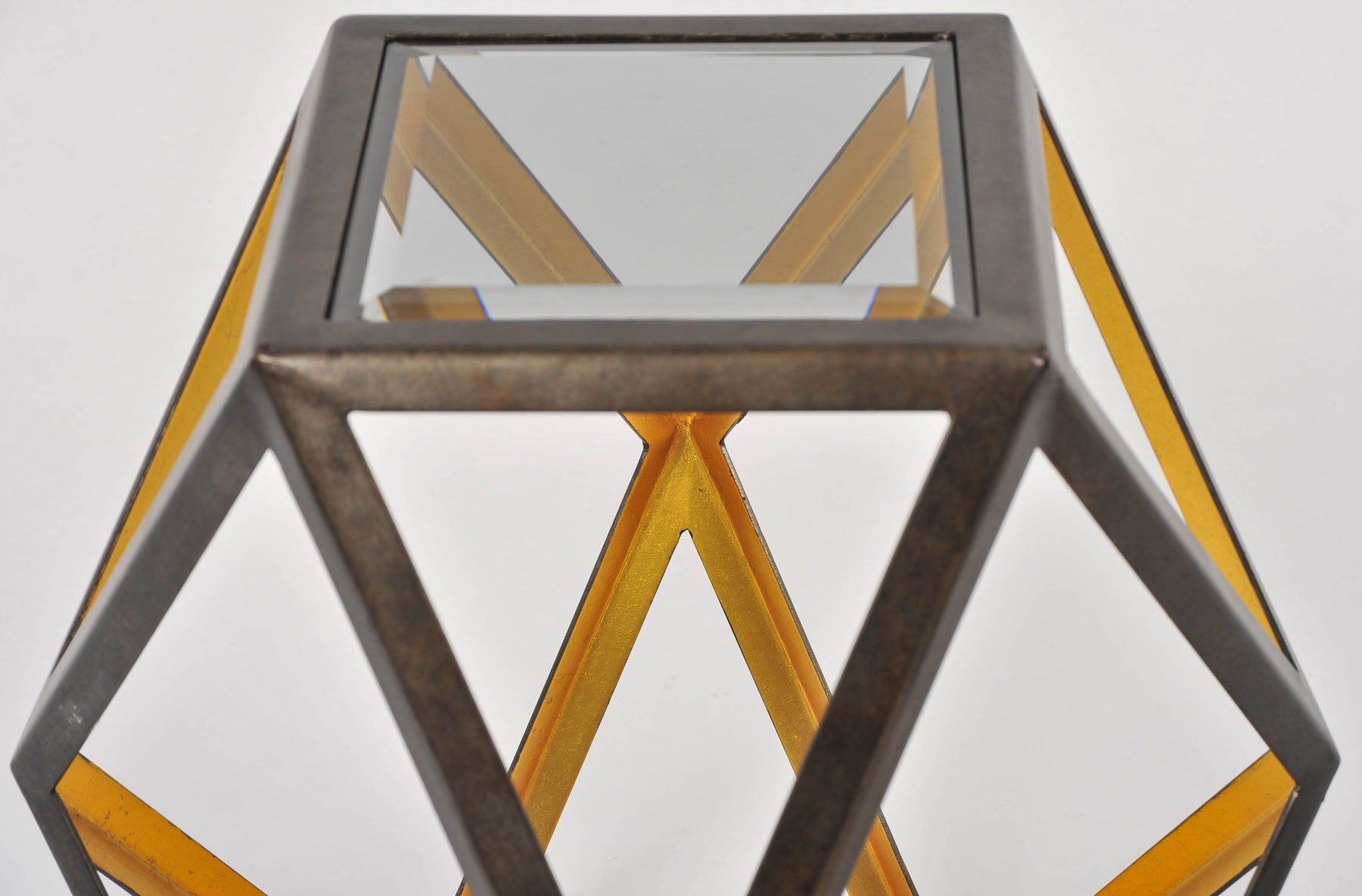 Pair Of Geometric Side Tables 06