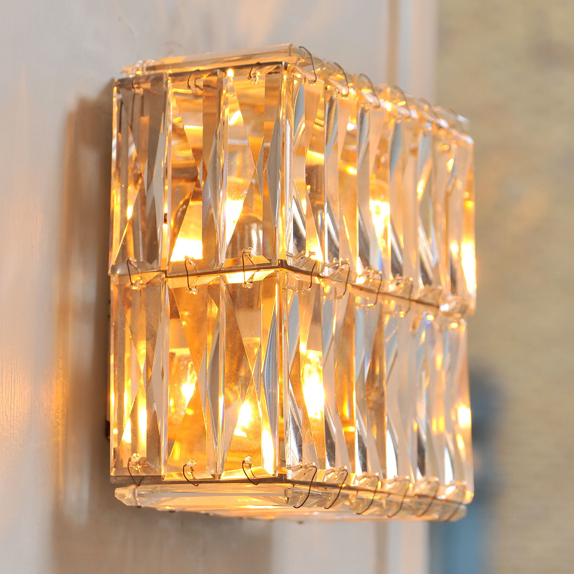 Pair Of Jewelled Wall Lights 03