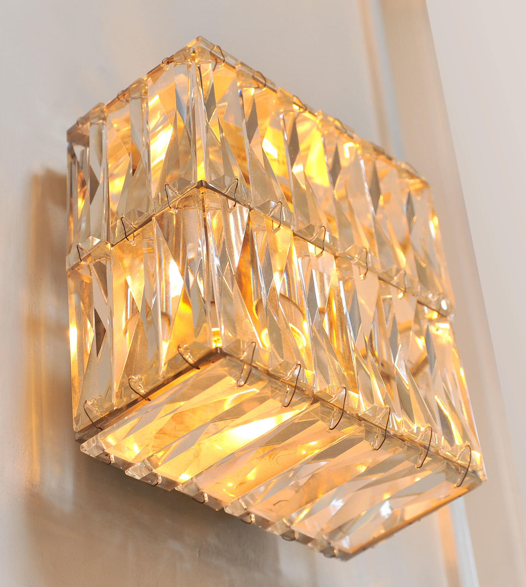 Pair Of Jewelled Wall Lights 04