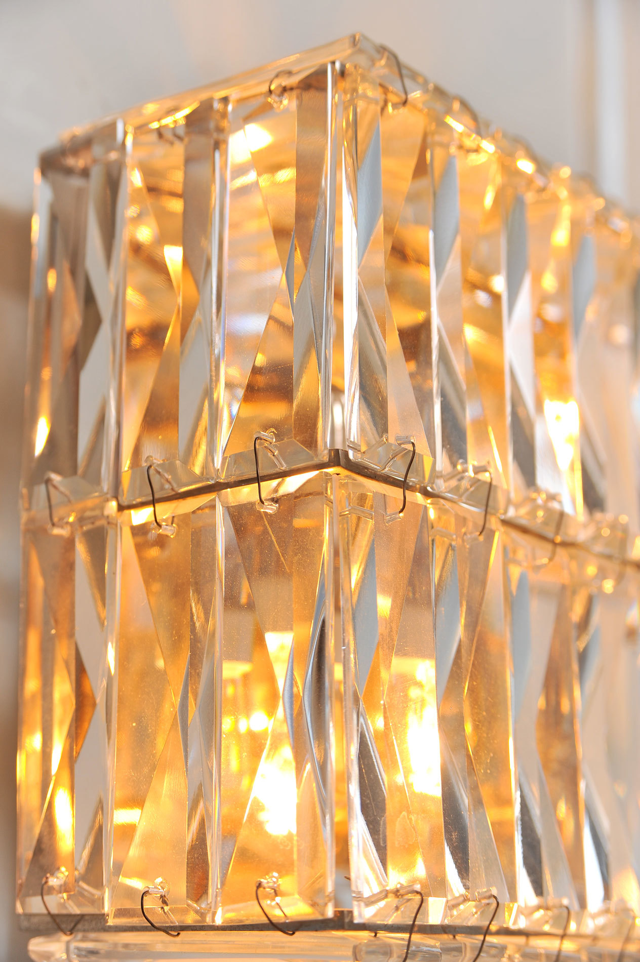 Pair Of Jewelled Wall Lights 06