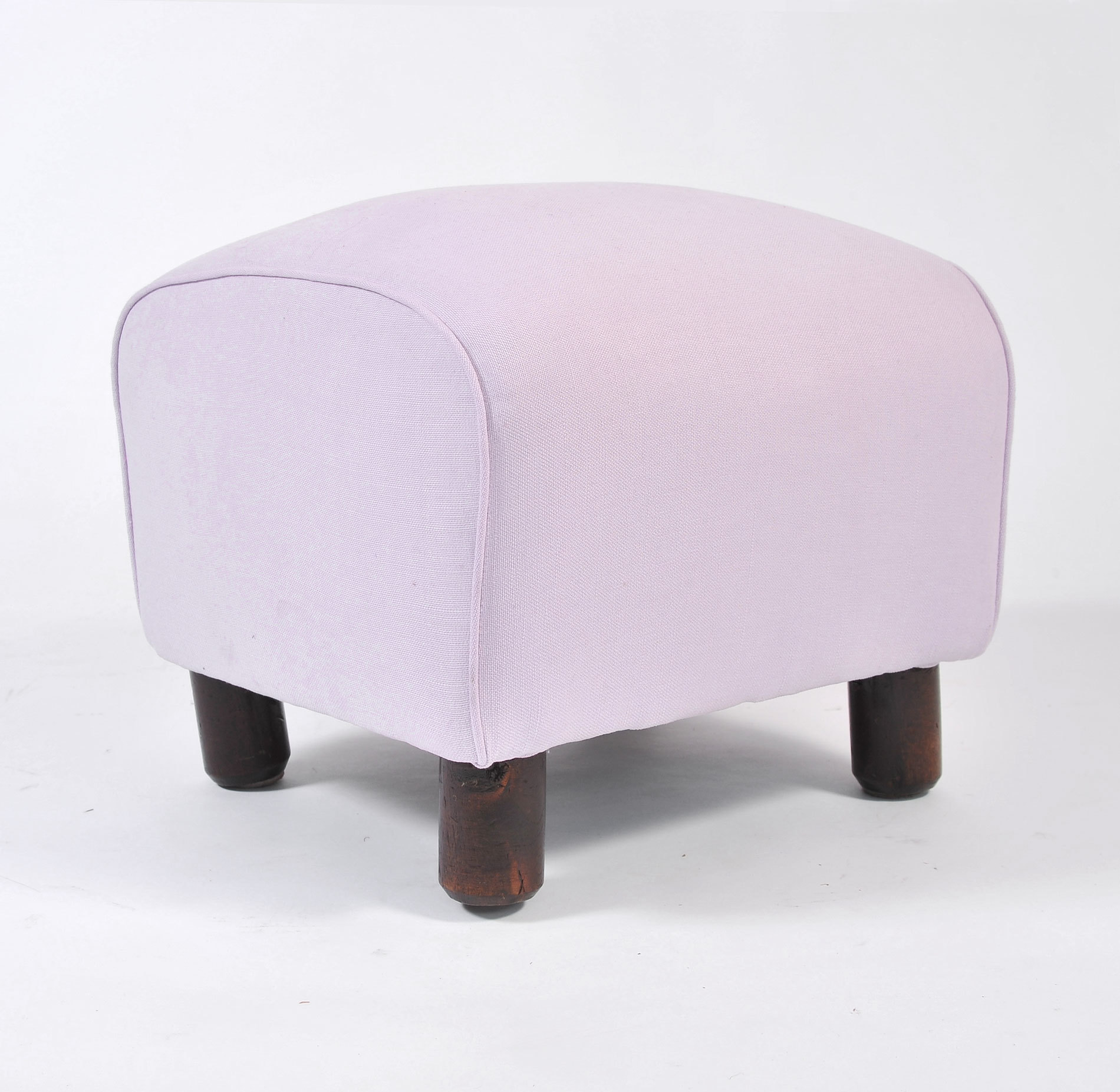 Pair Of Wood Stools In Lilac 04