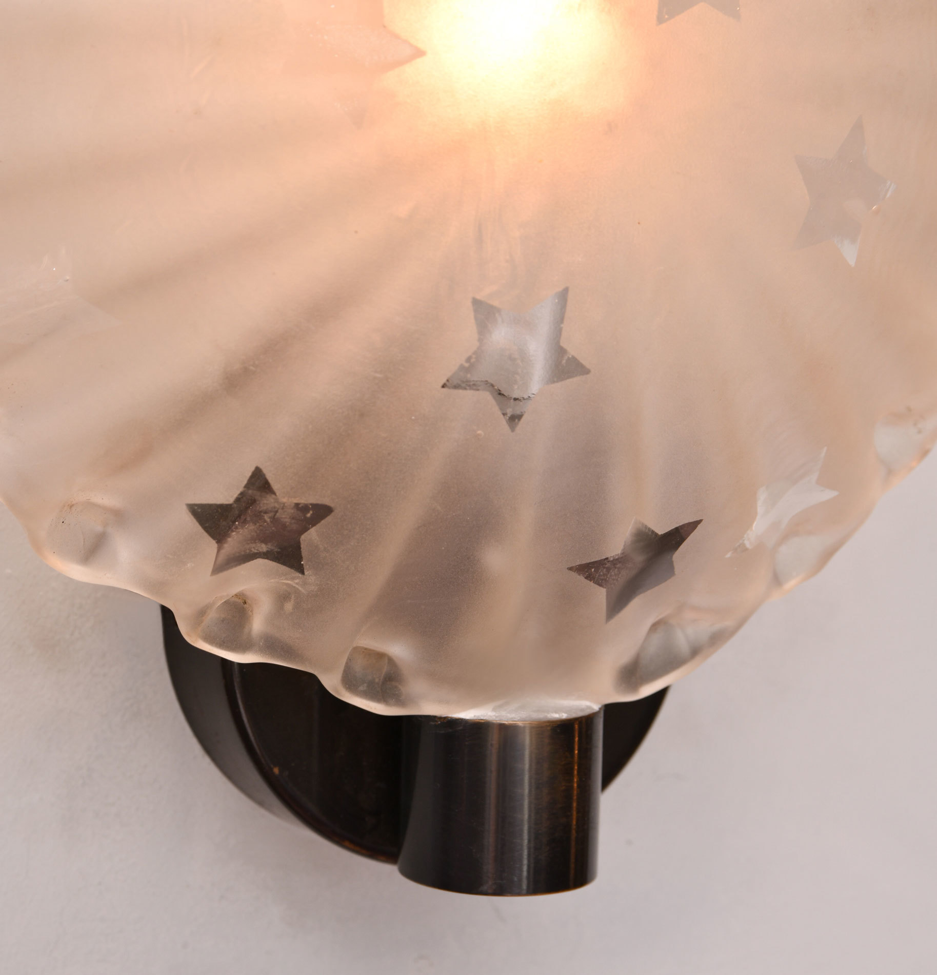 Pair Star Wall Lights 04
