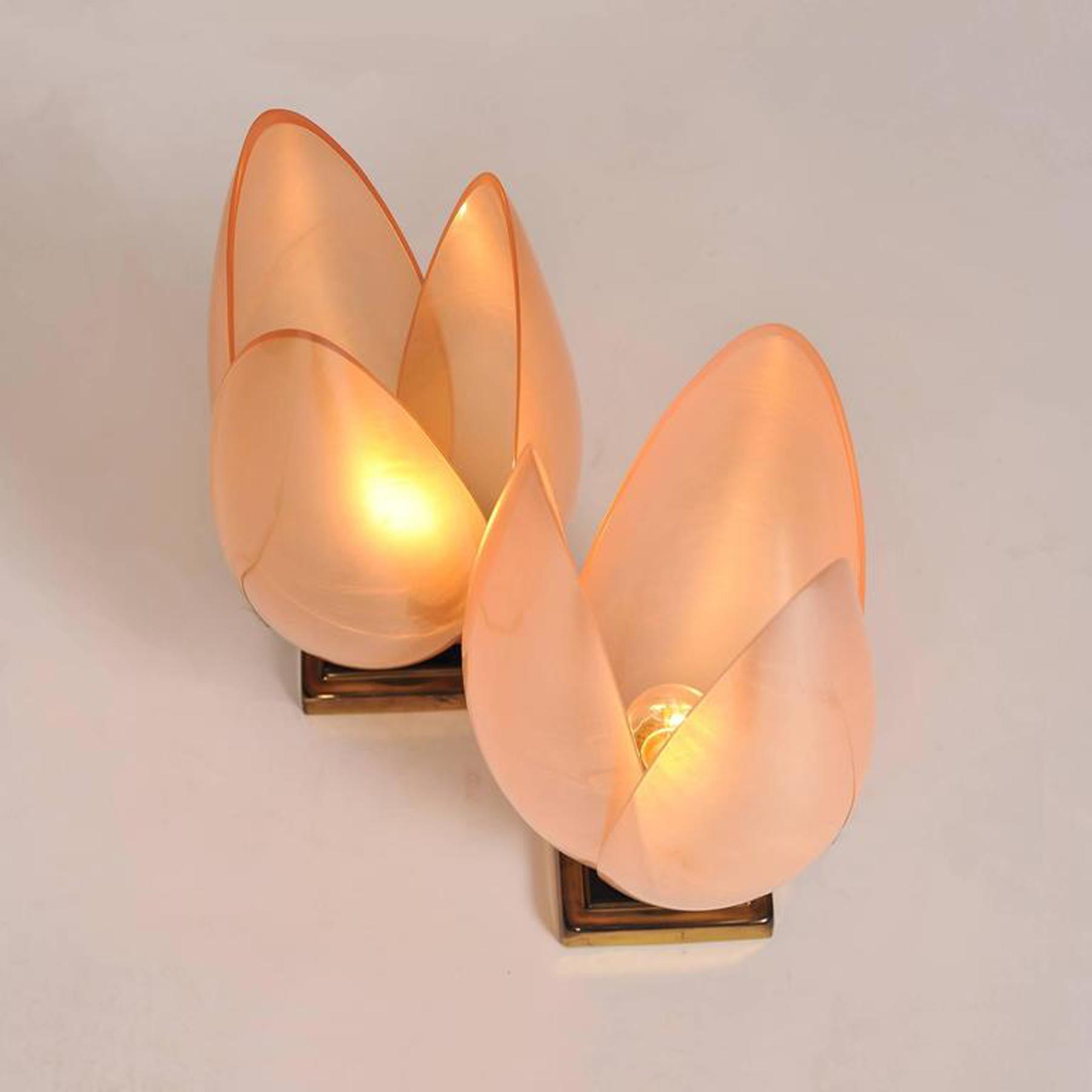 Pink Lotus Lamps L