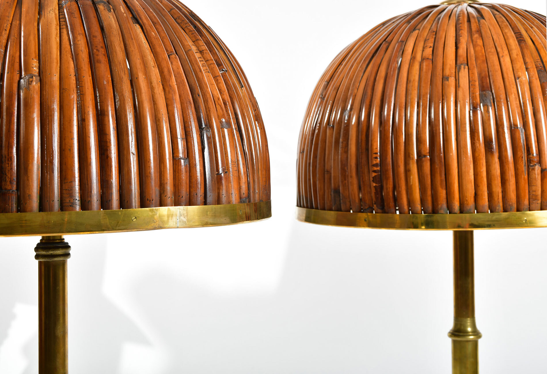 Table lamp, Brass table lamps