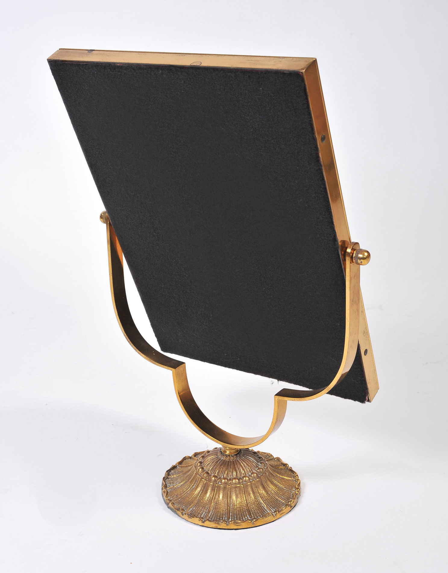 The image for Rectangular Brass Table Mirror 04
