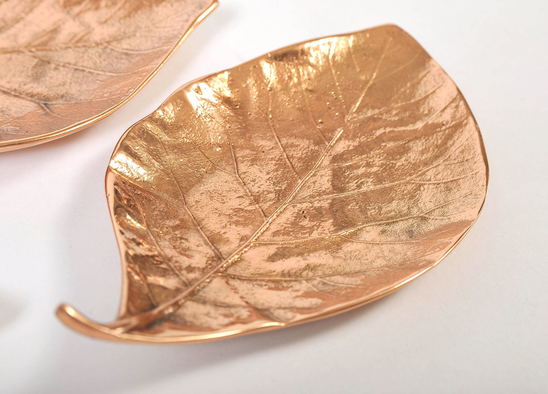 Set Of 3 Leaf Bowls 05