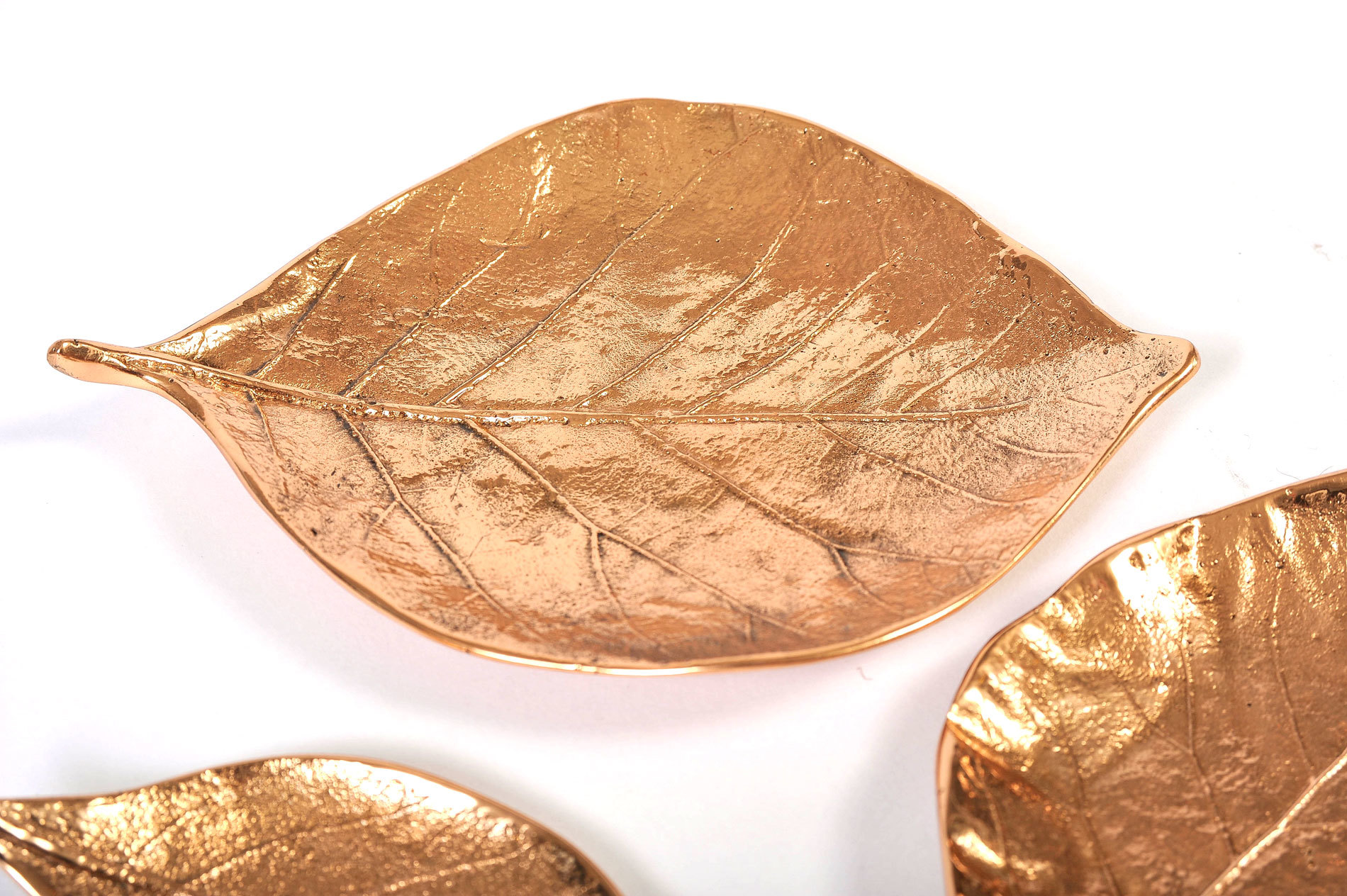 Set Of 3 Leaf Bowls 06