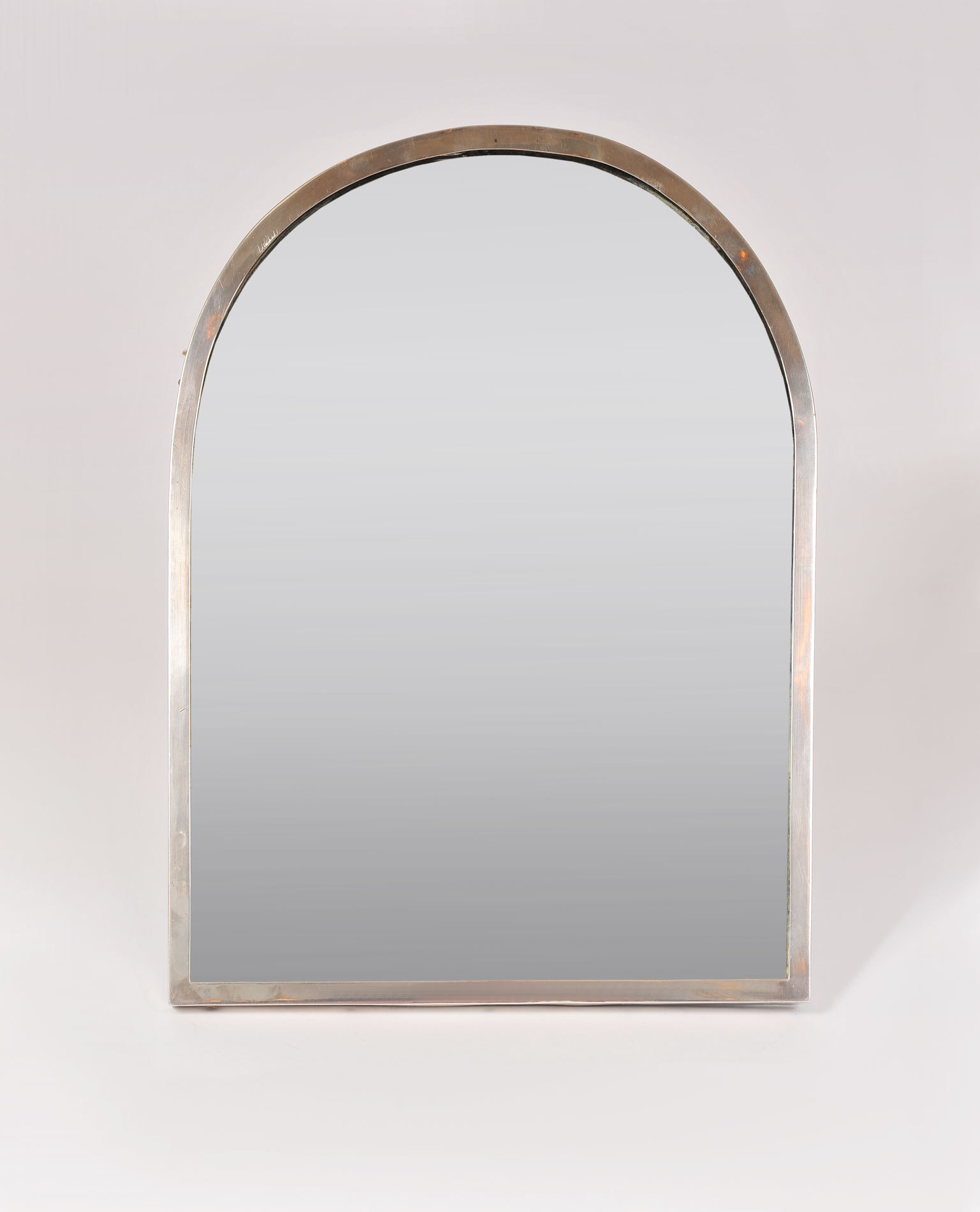 Silver Plate Arch Mirror 02