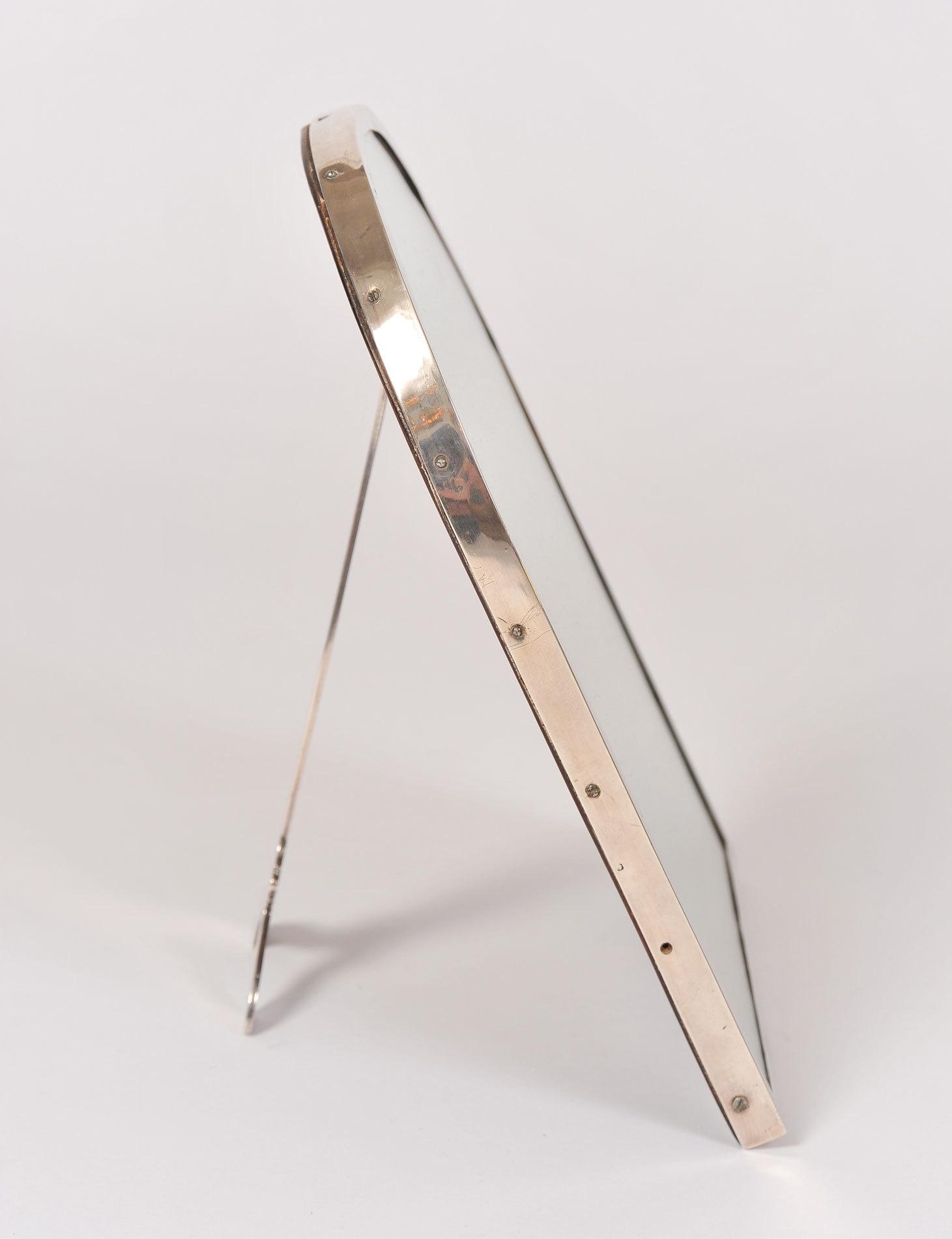Silver Plate Arch Mirror 03