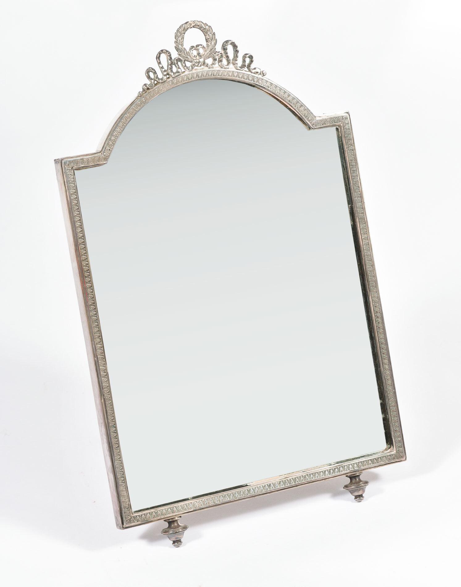 Silver Table Mirror 02