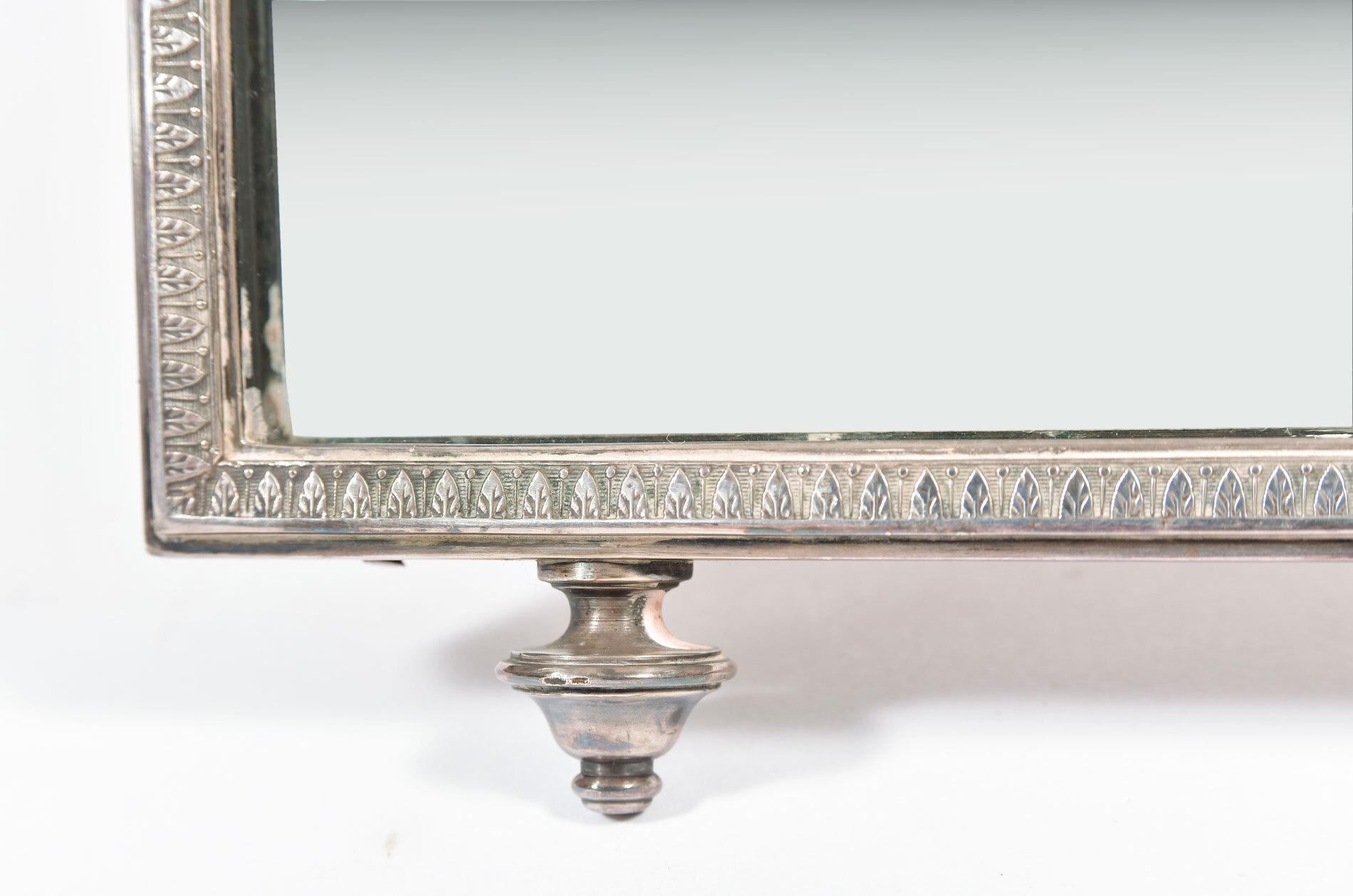 Silver Table Mirror 05