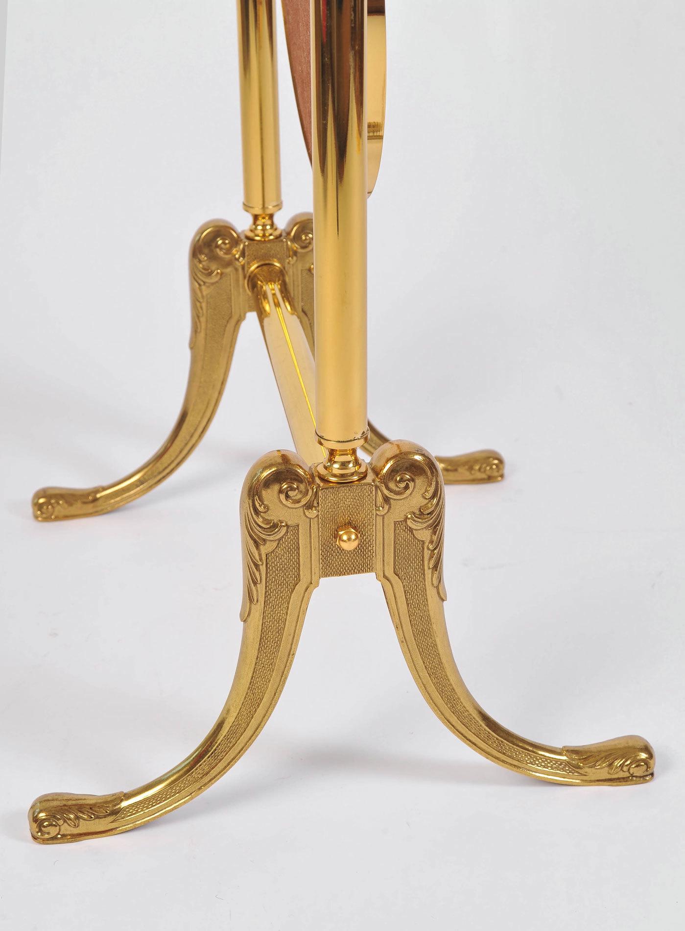 Standing Brass Mirror 07