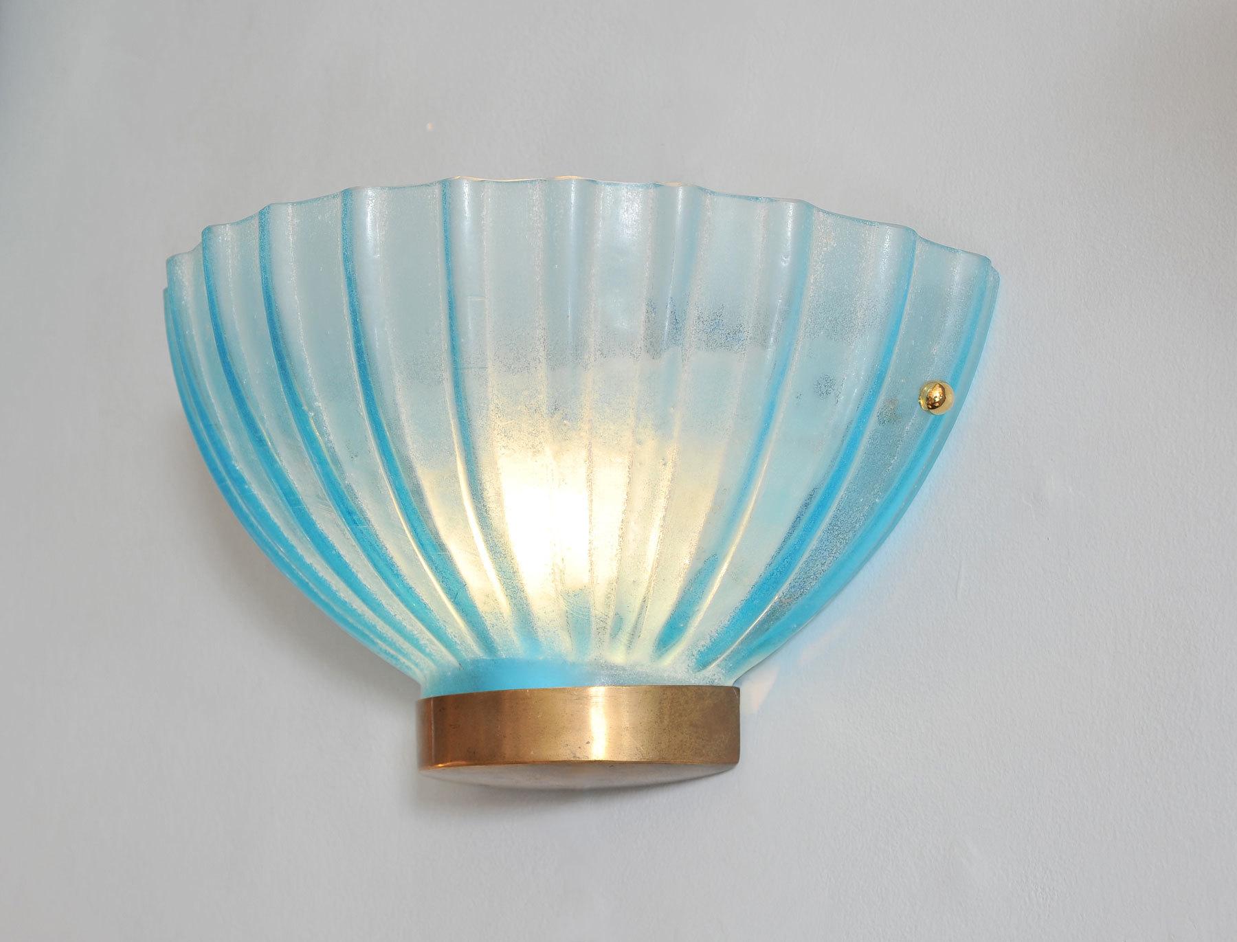 Two Seguso Scallop Lights 02 Vw