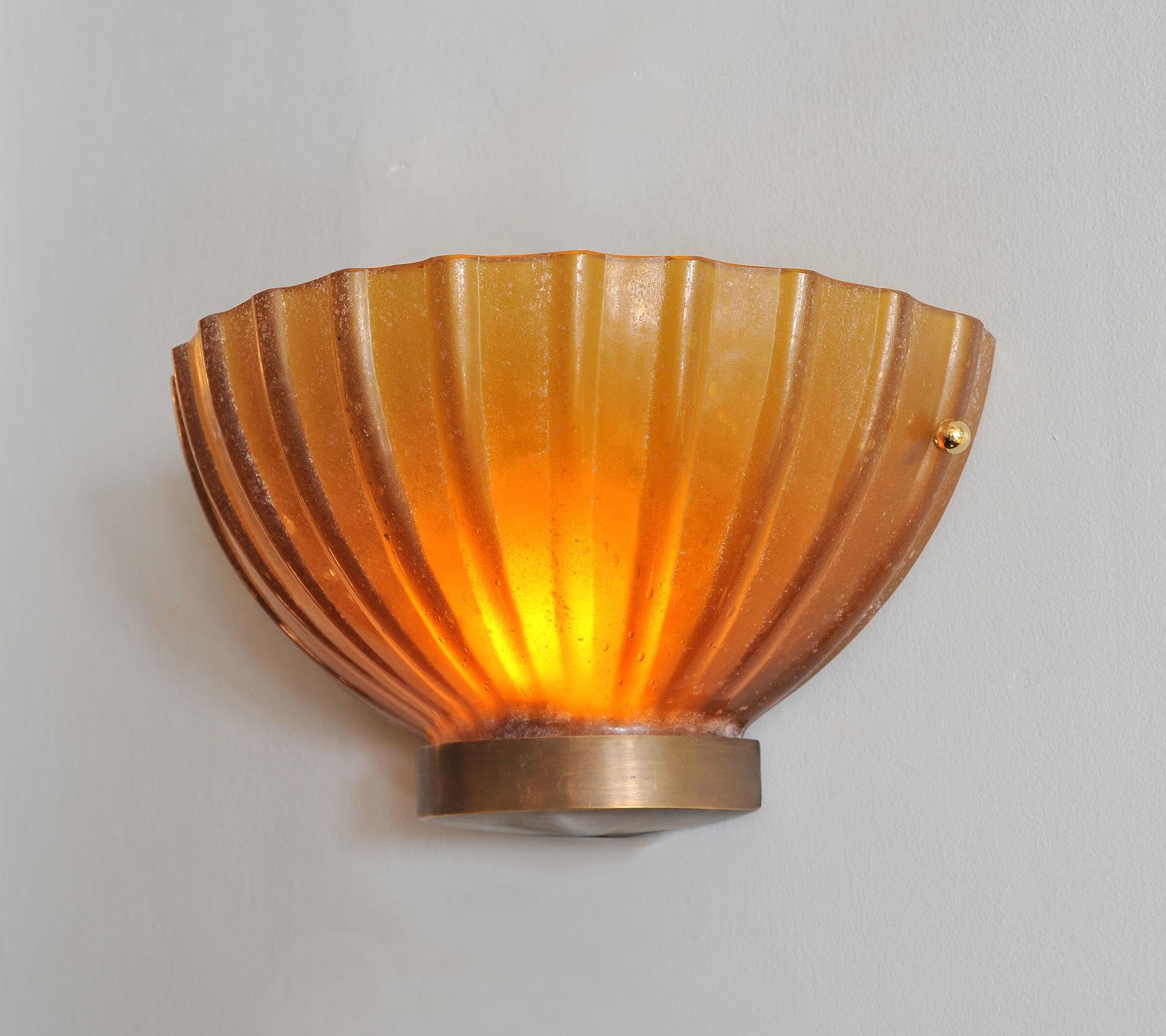 Two Seguso Scallop Lights 03 Vw